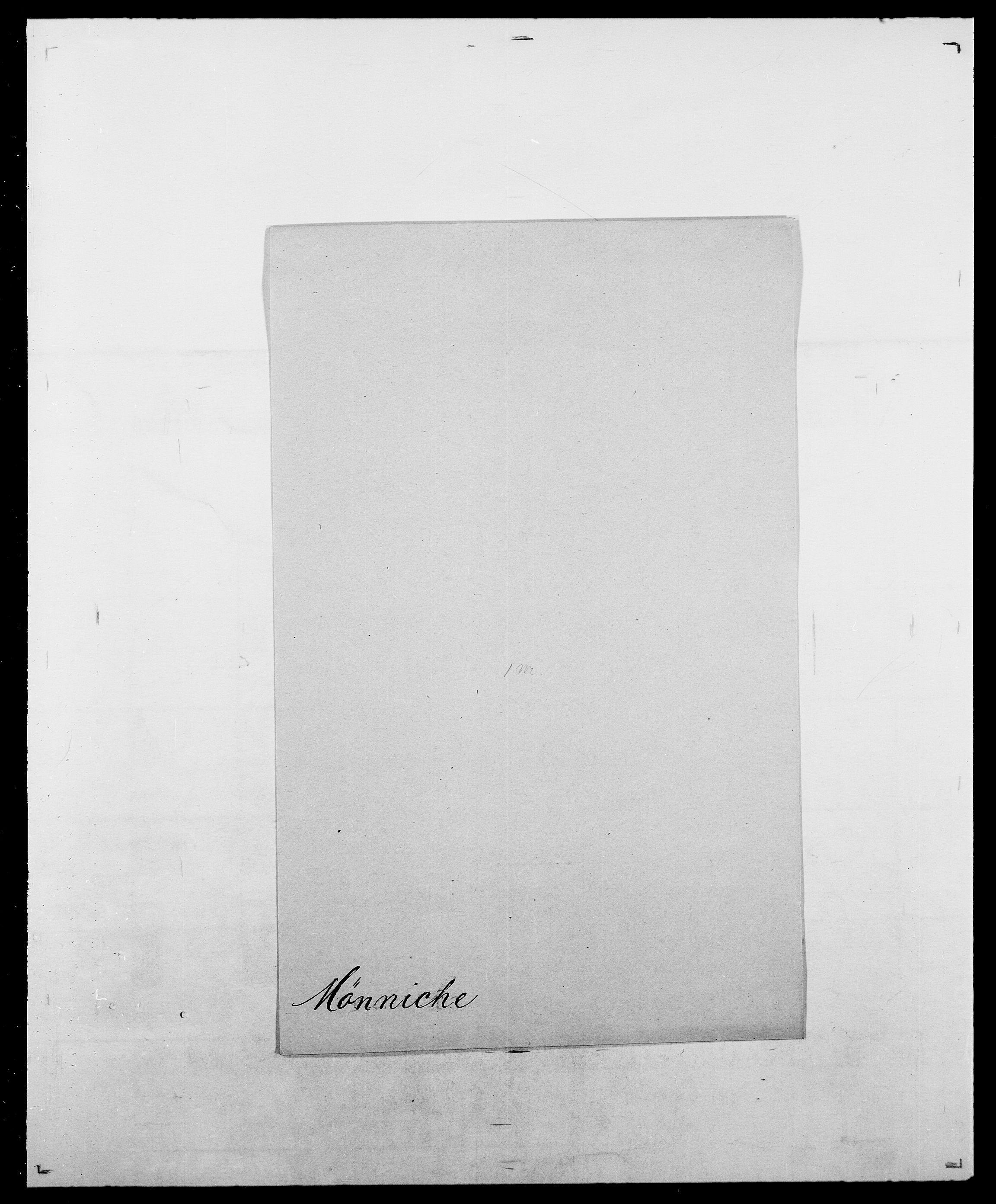 SAO, Delgobe, Charles Antoine - samling, D/Da/L0027: Morath - v. Møsting, s. 708