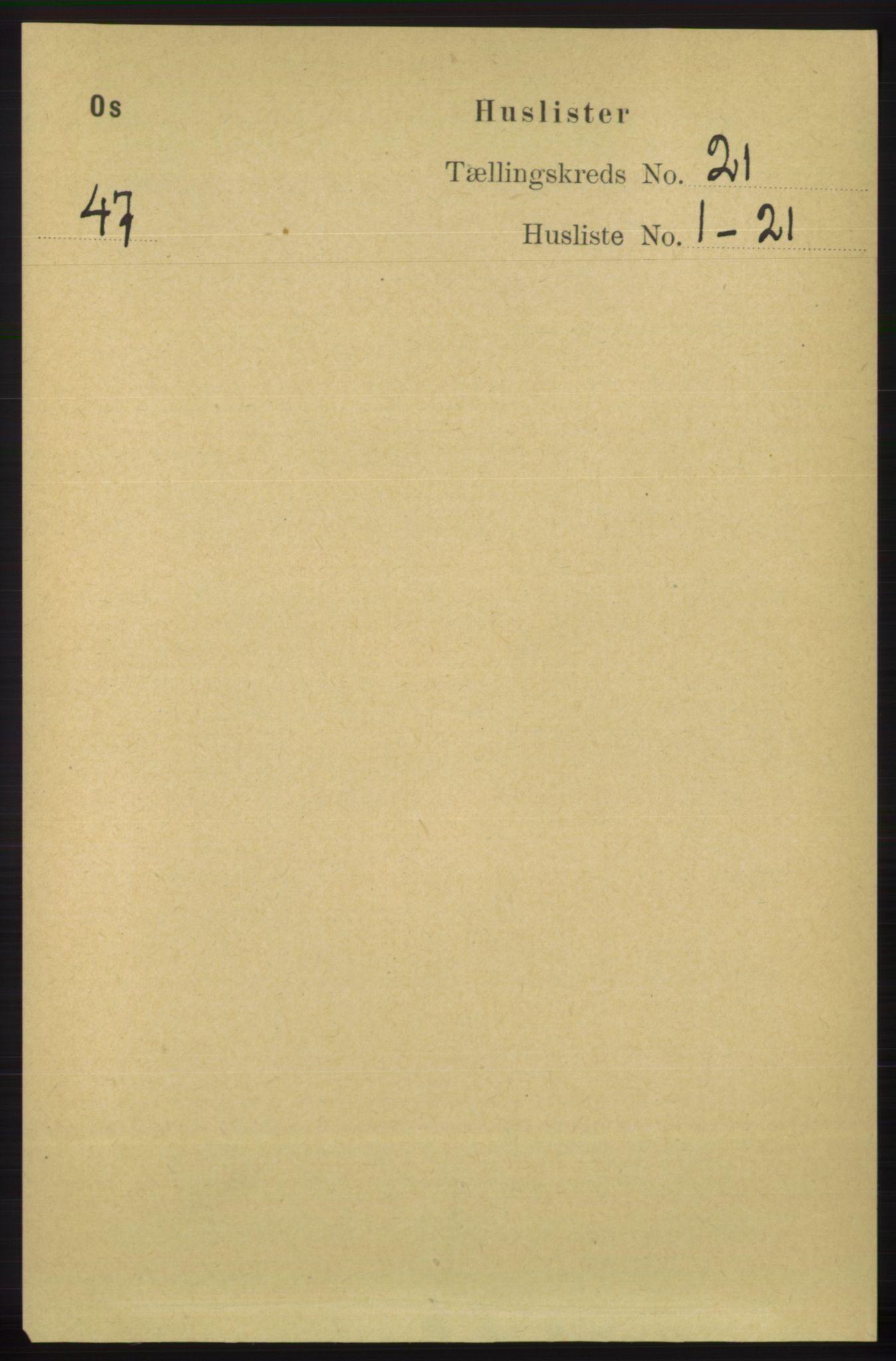 RA, Folketelling 1891 for 1243 Os herred, 1891, s. 4817