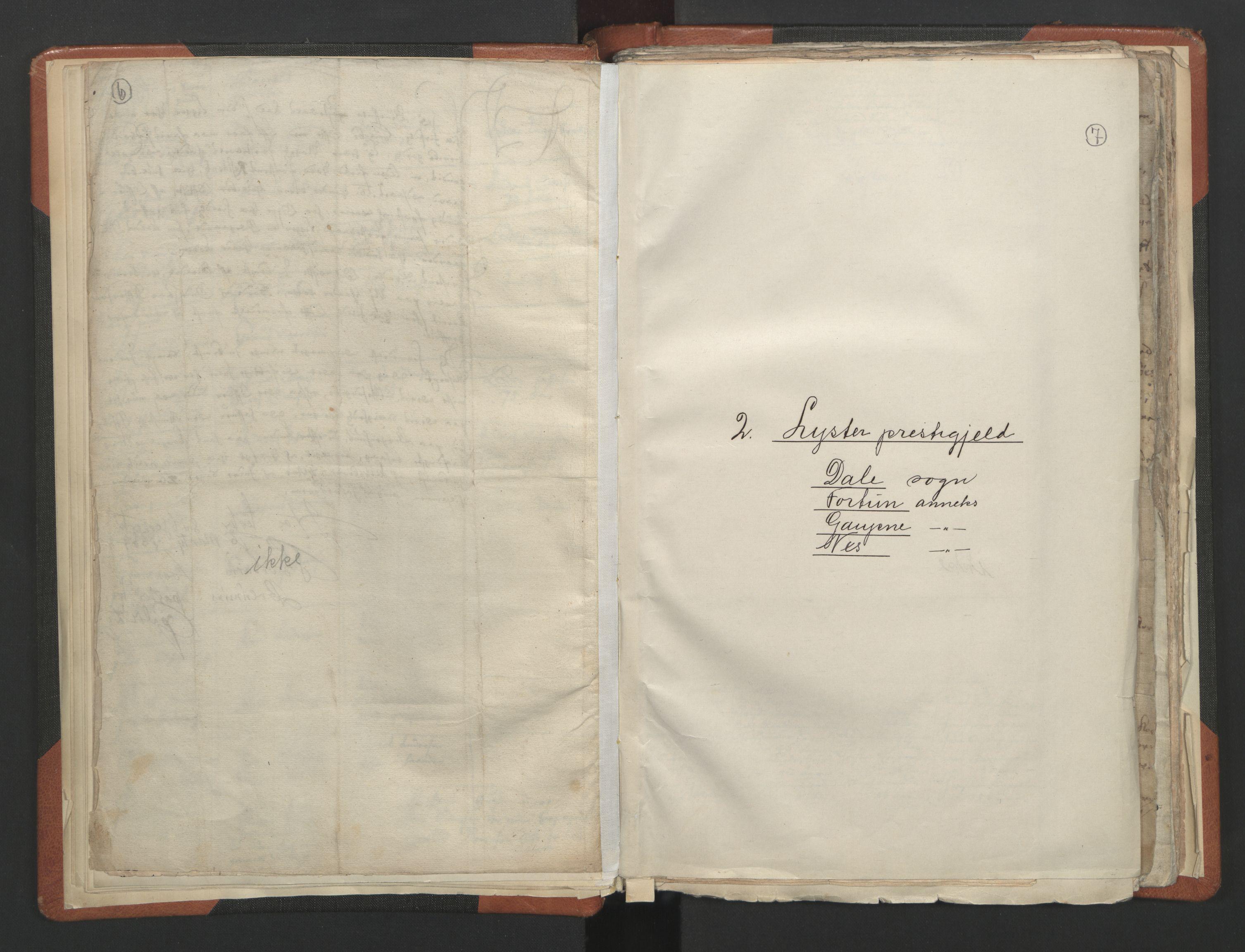 RA, Sogneprestenes manntall 1664-1666, nr. 23: Sogn prosti, 1664-1666, s. 6-7
