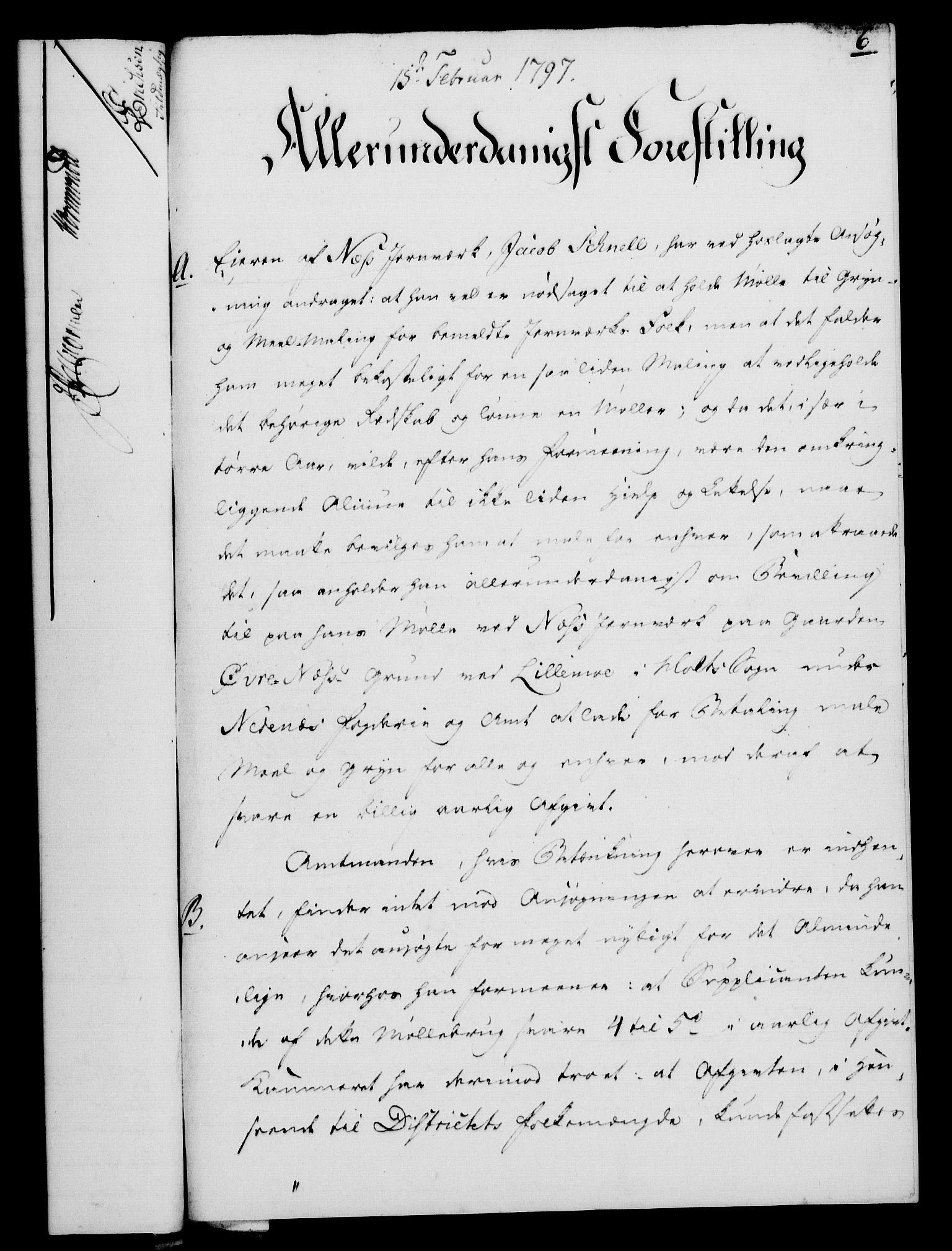 RA, Rentekammeret, Kammerkanselliet, G/Gf/Gfa/L0079: Norsk relasjons- og resolusjonsprotokoll (merket RK 52.79), 1797, s. 67