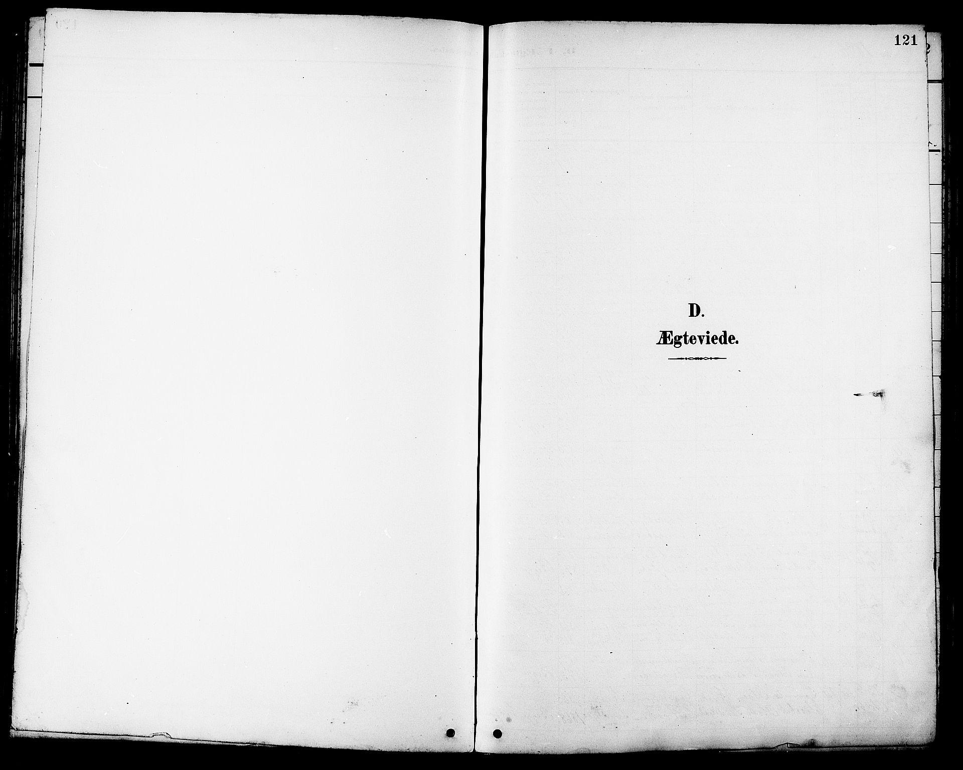 SAT, Ministerialprotokoller, klokkerbøker og fødselsregistre - Sør-Trøndelag, 681/L0941: Klokkerbok nr. 681C05, 1896-1905, s. 121