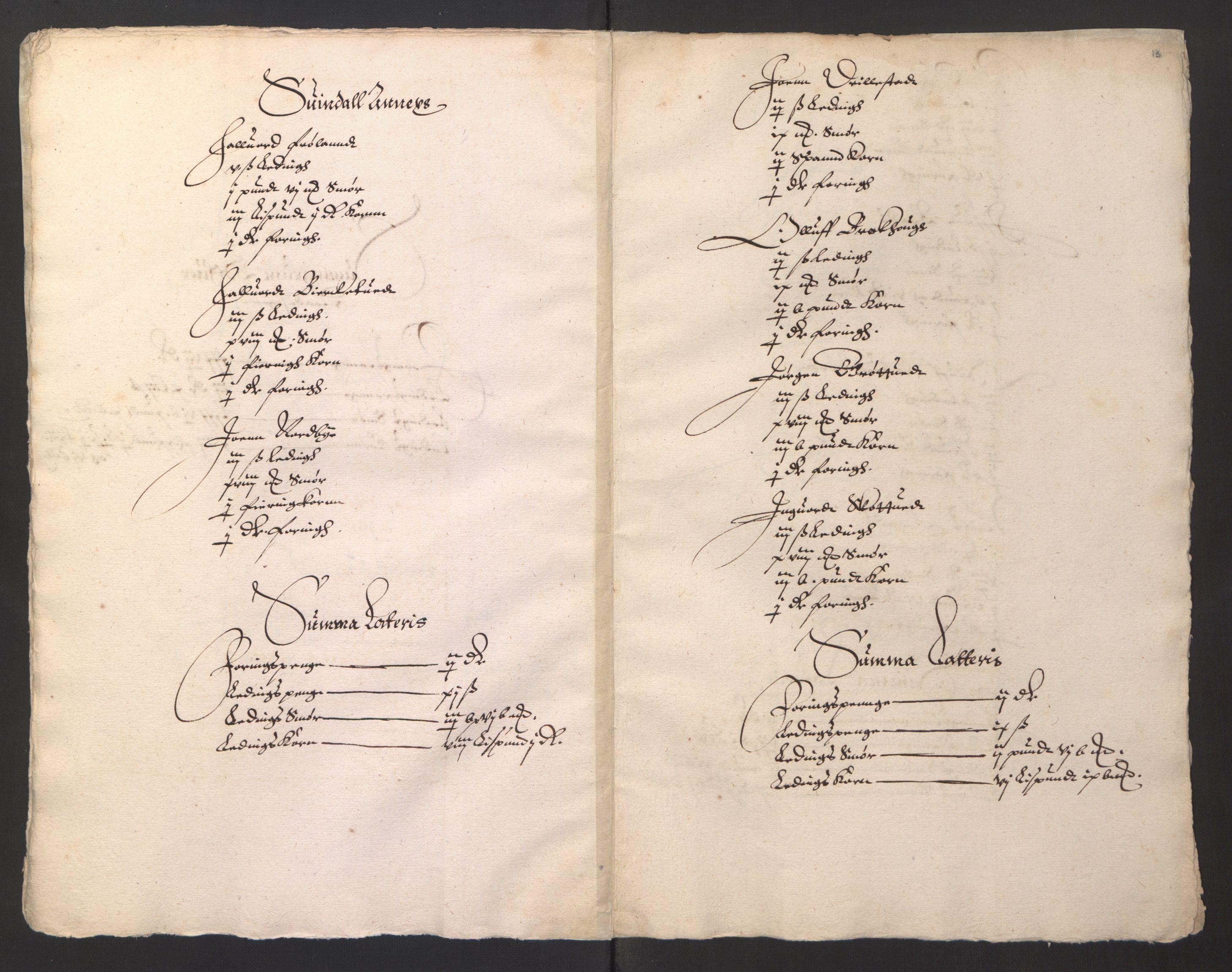 RA, Stattholderembetet 1572-1771, Ek/L0001: Jordebøker før 1624 og til utligning av garnisonsskatt 1624-1626:, 1624-1625, s. 196
