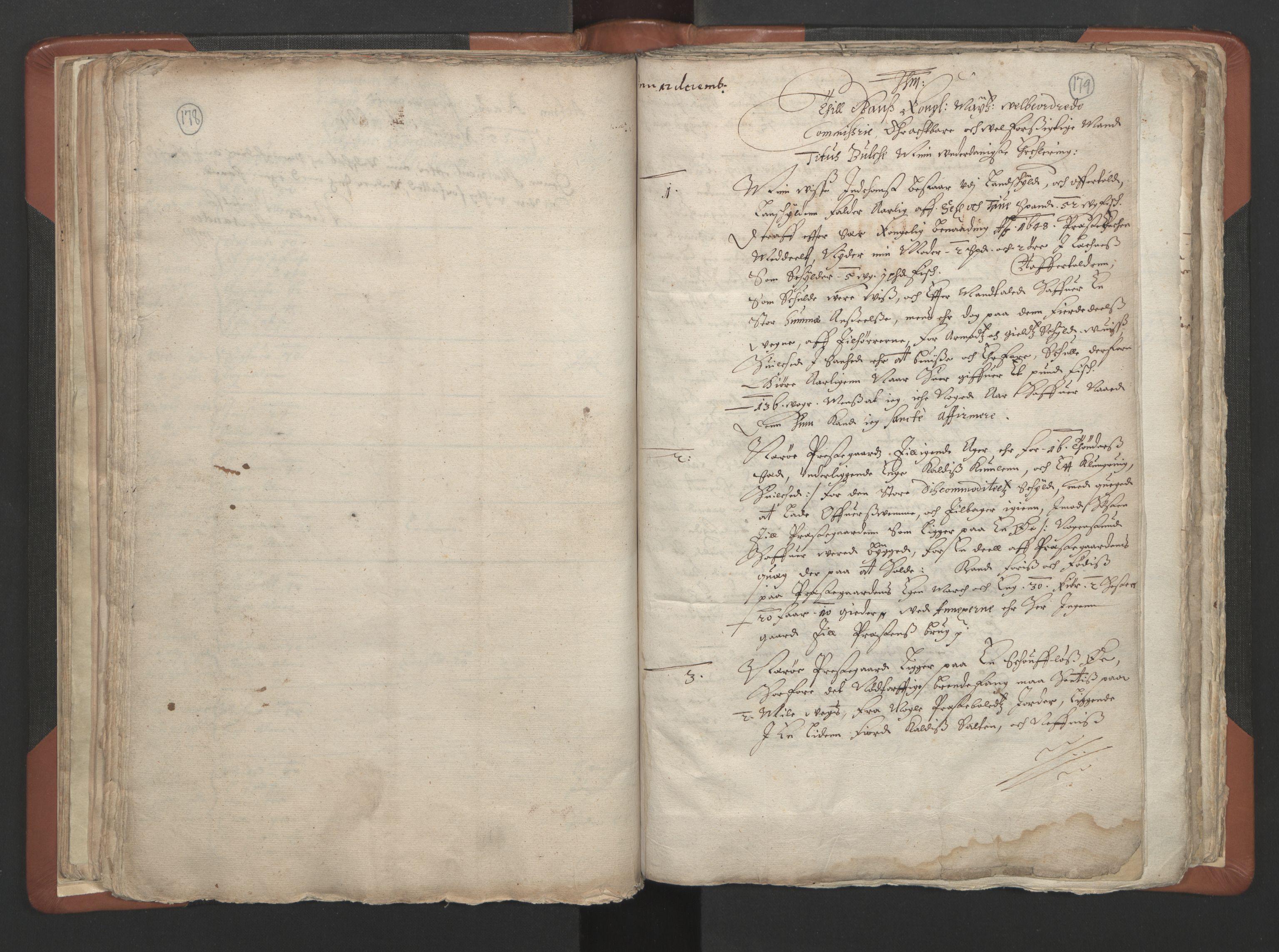 RA, Sogneprestenes manntall 1664-1666, nr. 34: Namdal prosti, 1664-1666, s. 178-179