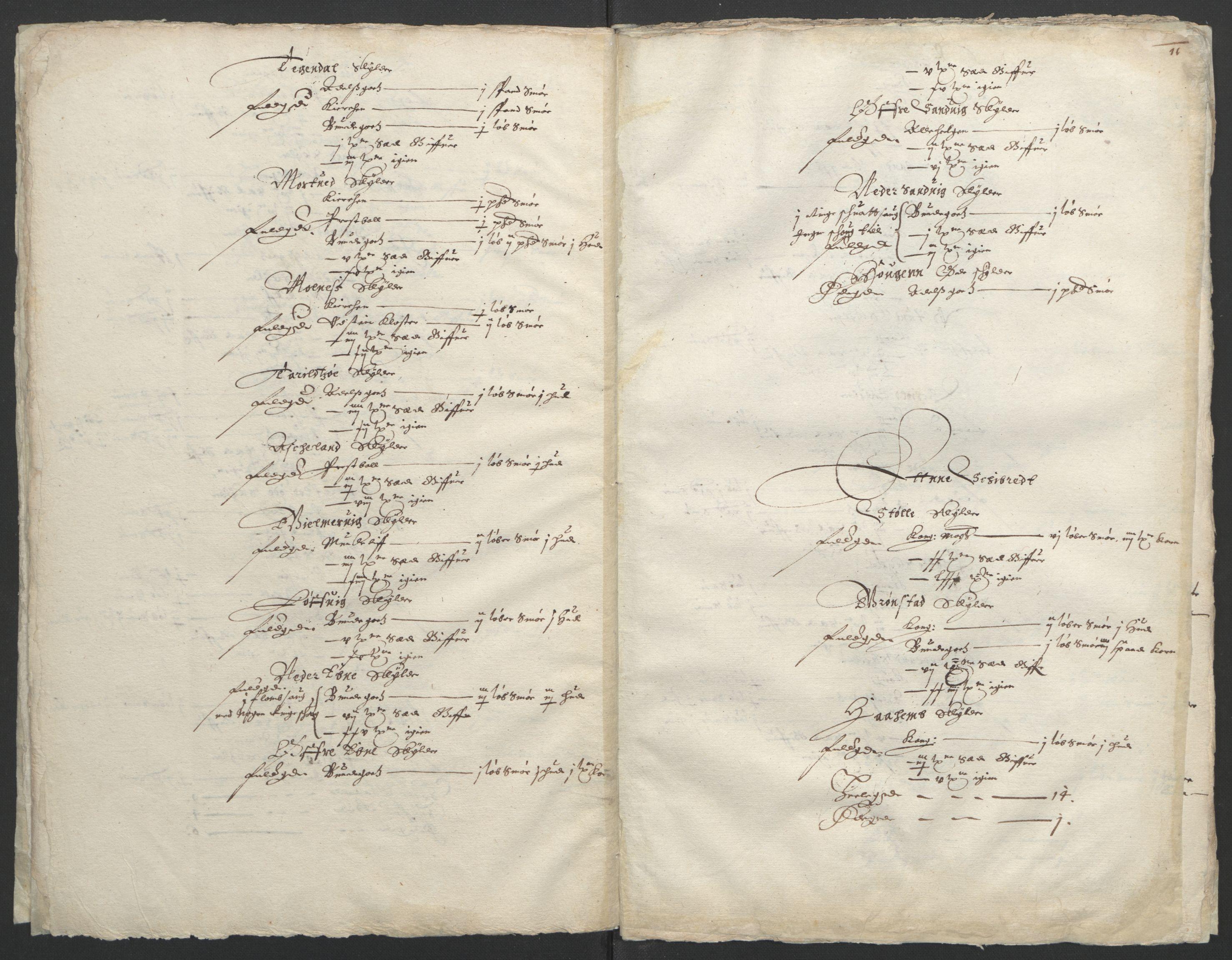 RA, Stattholderembetet 1572-1771, Ek/L0004: Jordebøker til utlikning av garnisonsskatt 1624-1626:, 1626, s. 15