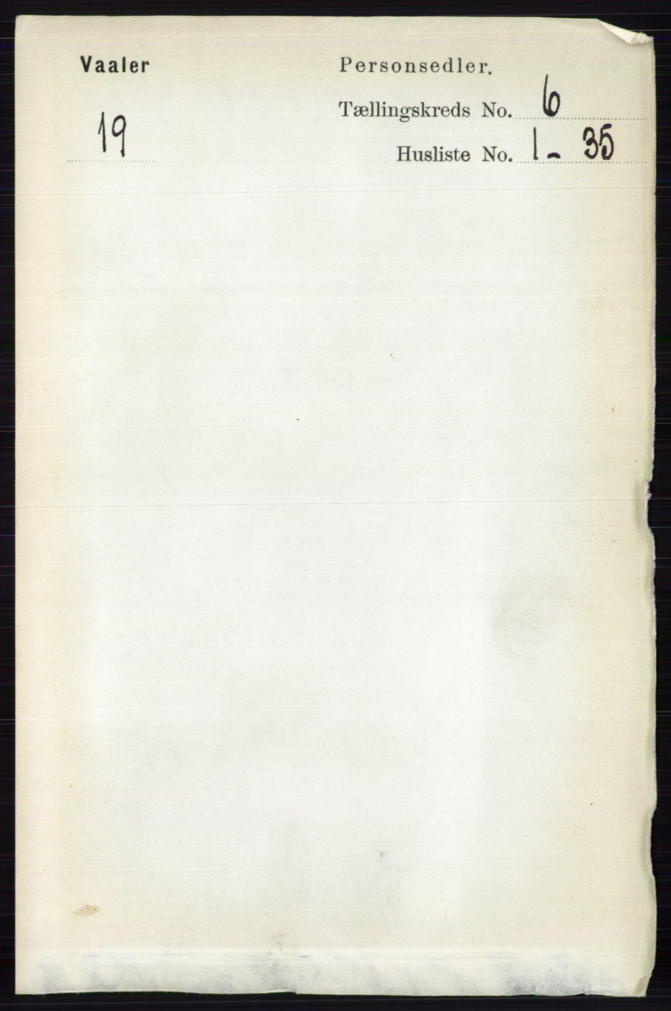 RA, Folketelling 1891 for 0426 Våler herred, 1891, s. 2463