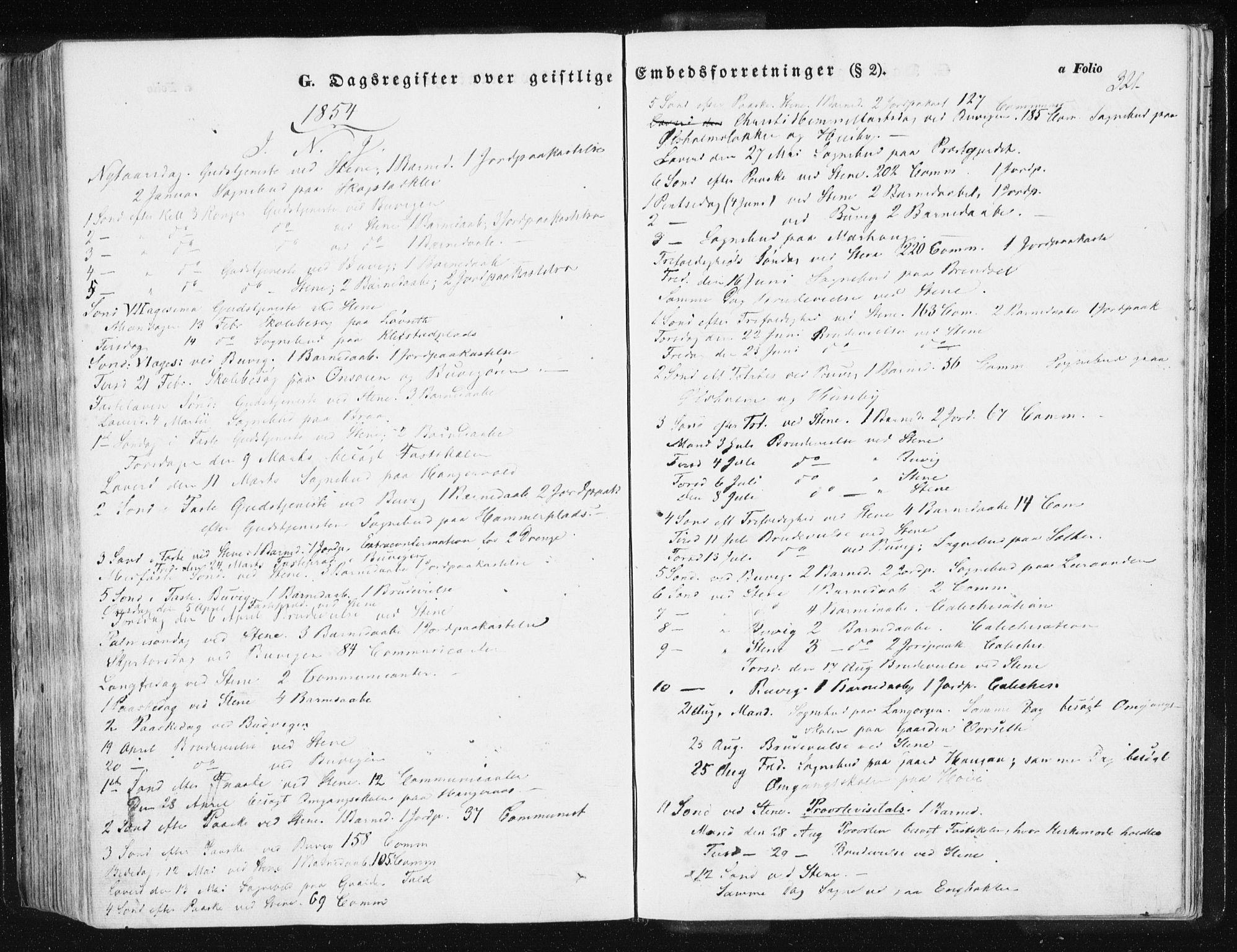 SAT, Ministerialprotokoller, klokkerbøker og fødselsregistre - Sør-Trøndelag, 612/L0376: Ministerialbok nr. 612A08, 1846-1859, s. 321