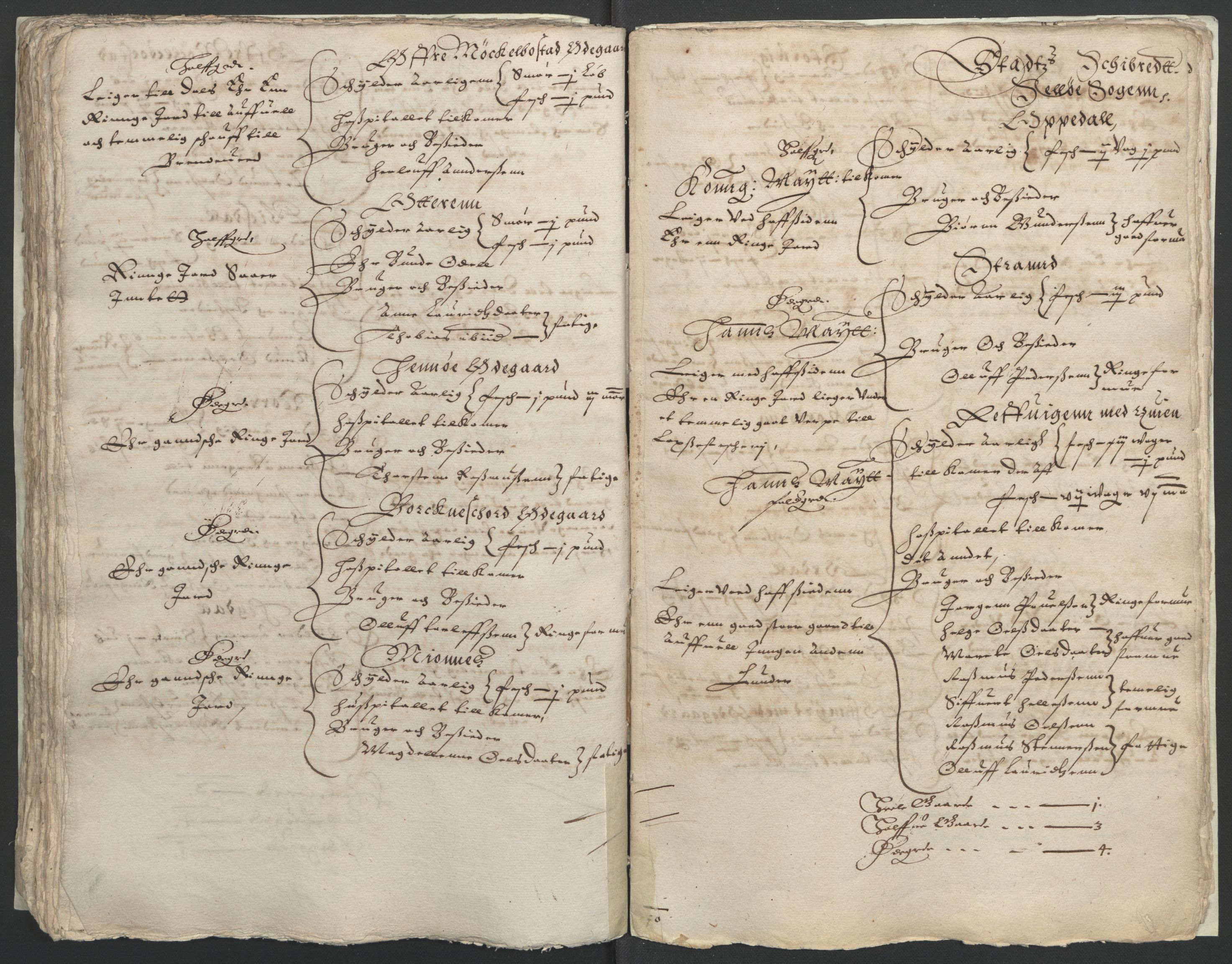 RA, Stattholderembetet 1572-1771, Ek/L0005: Jordebøker til utlikning av garnisonsskatt 1624-1626:, 1626, s. 123