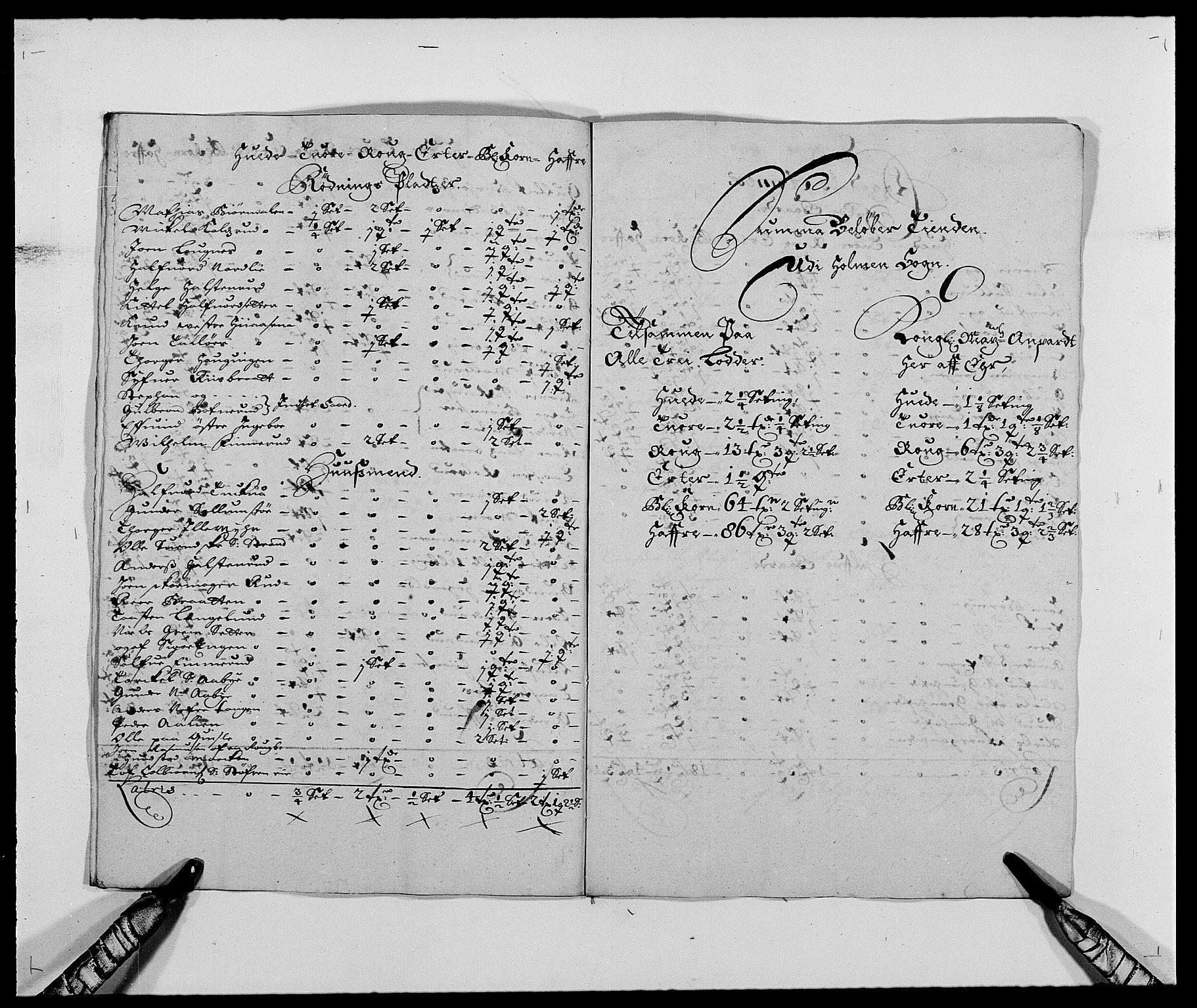 RA, Rentekammeret inntil 1814, Reviderte regnskaper, Fogderegnskap, R25/L1679: Fogderegnskap Buskerud, 1687-1688, s. 59