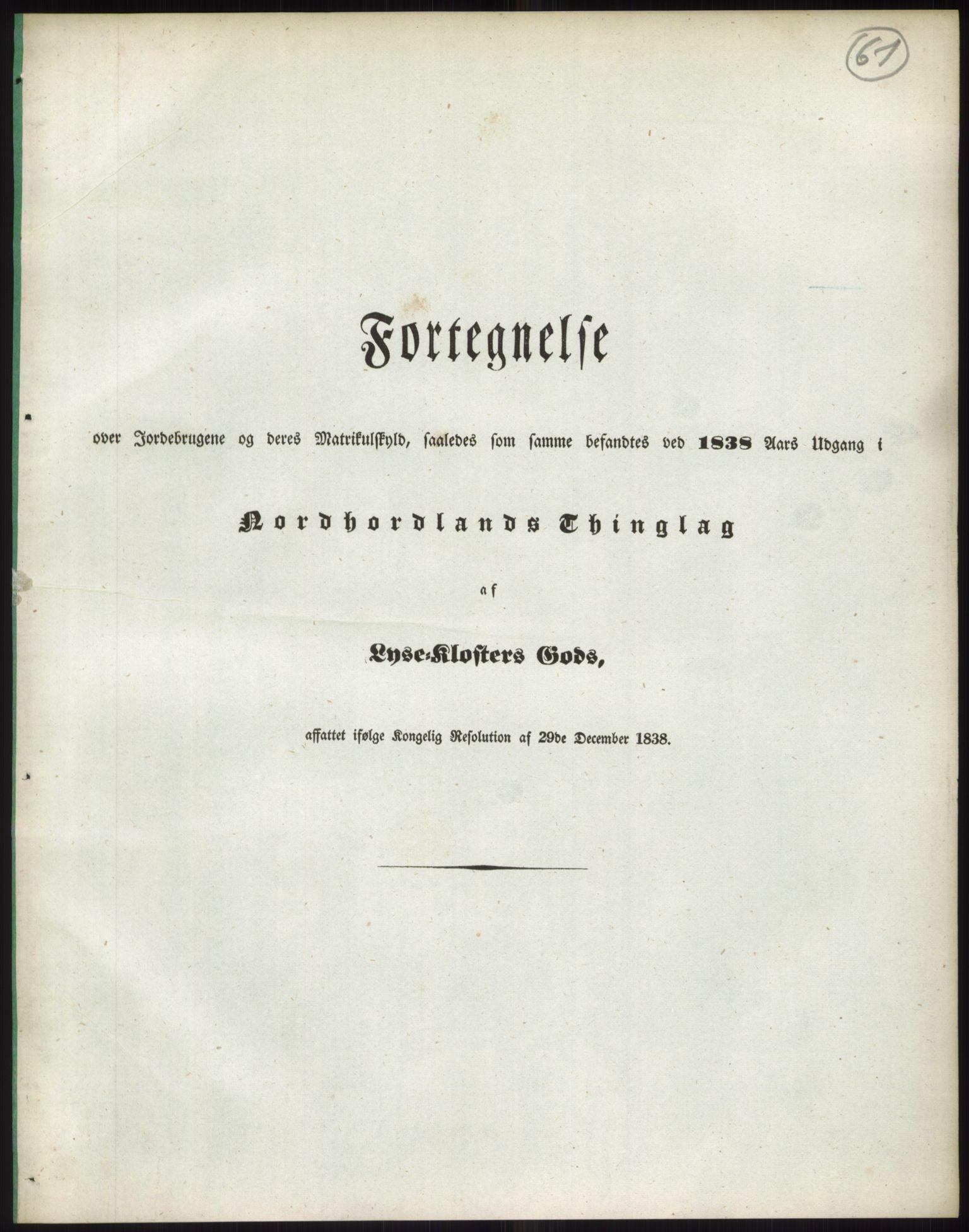 RA, 1838-matrikkelen (publikasjon)*, 1838, s. 61