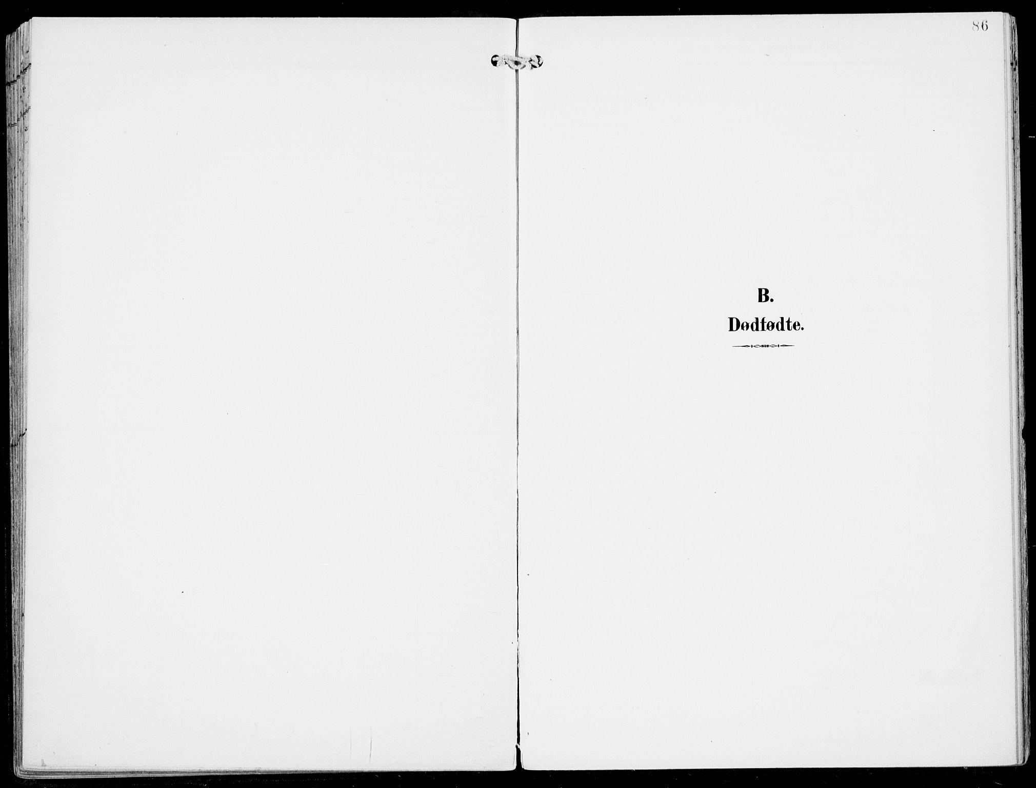 SAB, Ulvik Sokneprestembete, H/Haa: Ministerialbok nr. B  2, 1898-1924, s. 86