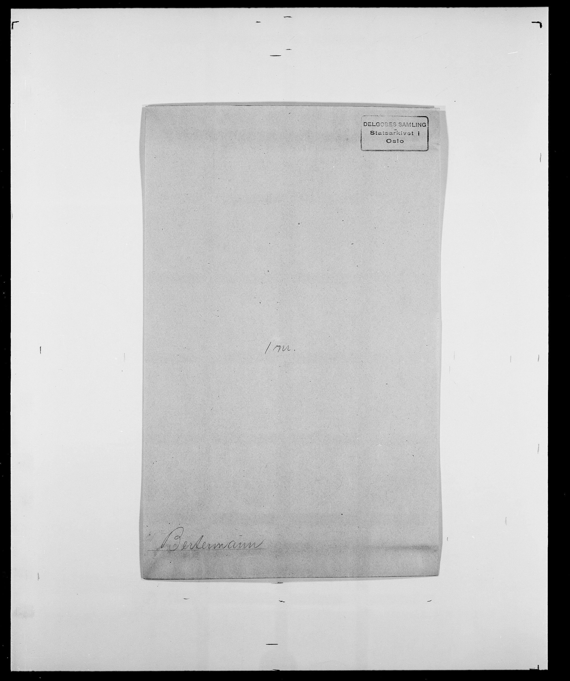 SAO, Delgobe, Charles Antoine - samling, D/Da/L0004: Bergendahl - Blære, s. 102