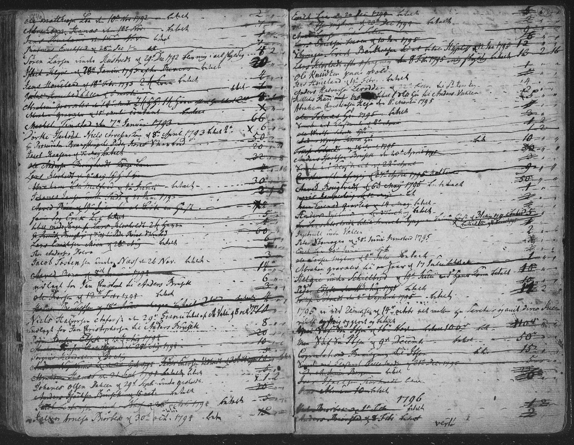 SAKO, Solum kirkebøker, F/Fa/L0003: Ministerialbok nr. I 3, 1761-1814, s. 276-277