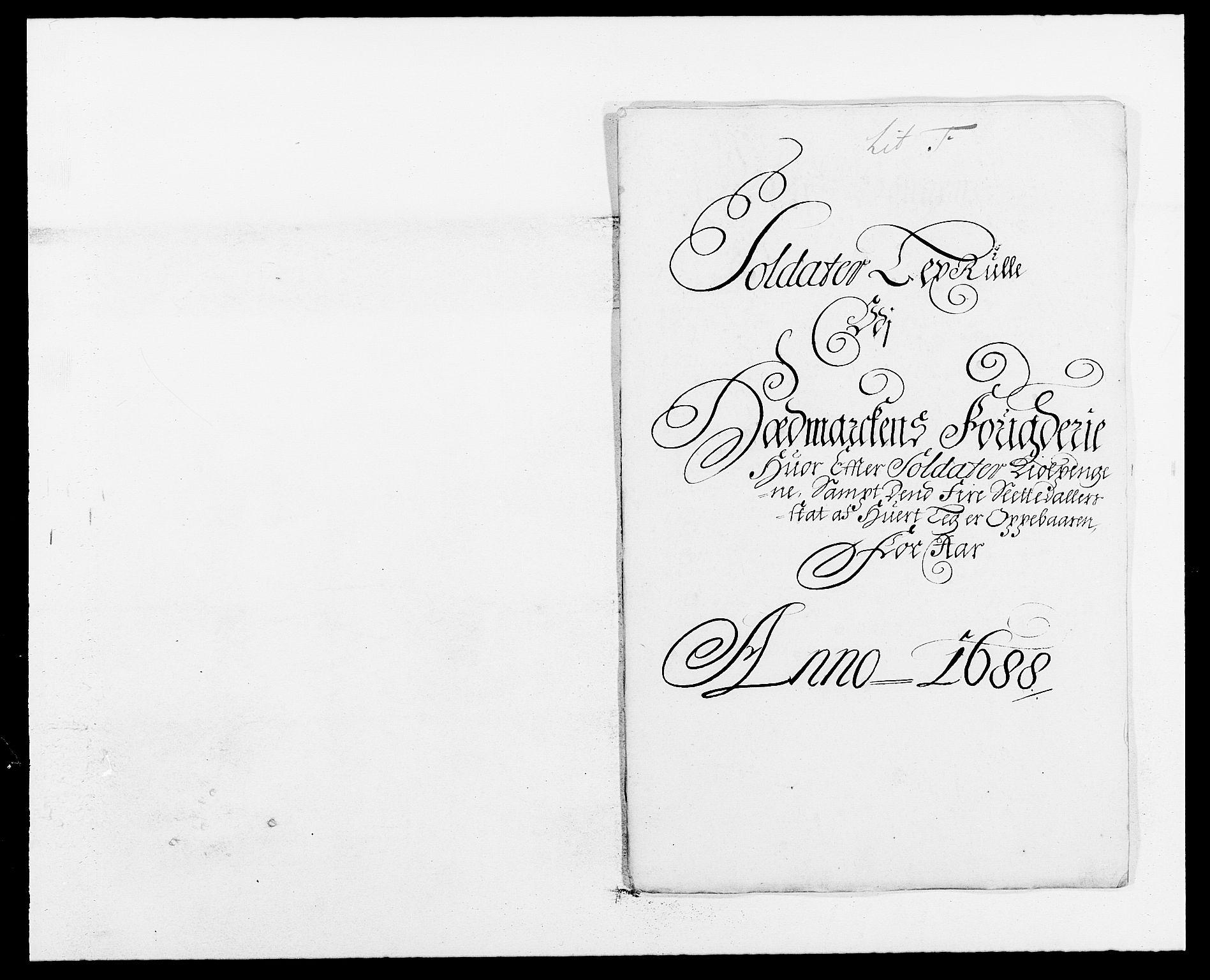 RA, Rentekammeret inntil 1814, Reviderte regnskaper, Fogderegnskap, R16/L1029: Fogderegnskap Hedmark, 1688, s. 292