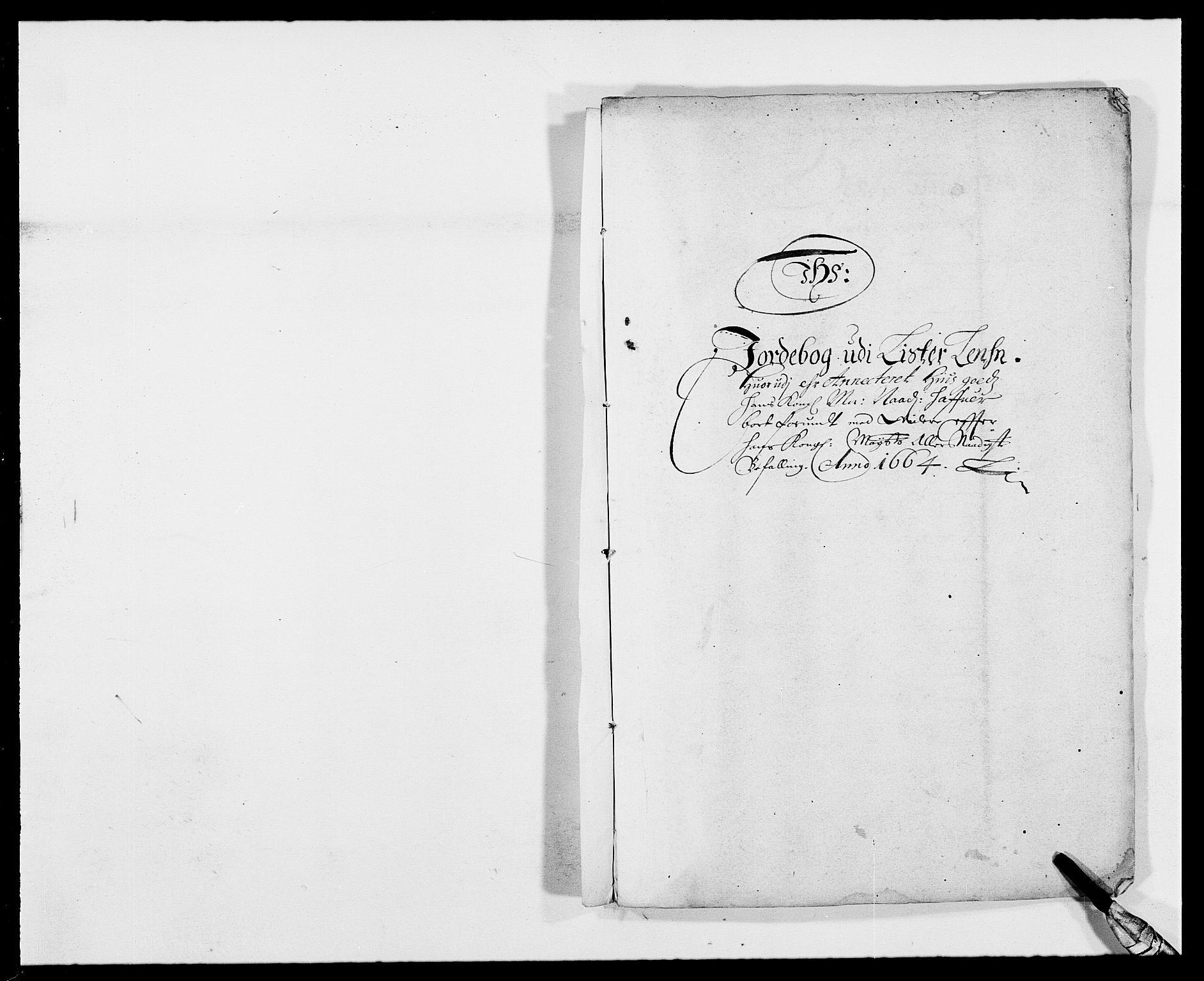 RA, Rentekammeret inntil 1814, Reviderte regnskaper, Fogderegnskap, R41/L2523: Fogderegnskap Lista, 1663-1664, s. 344