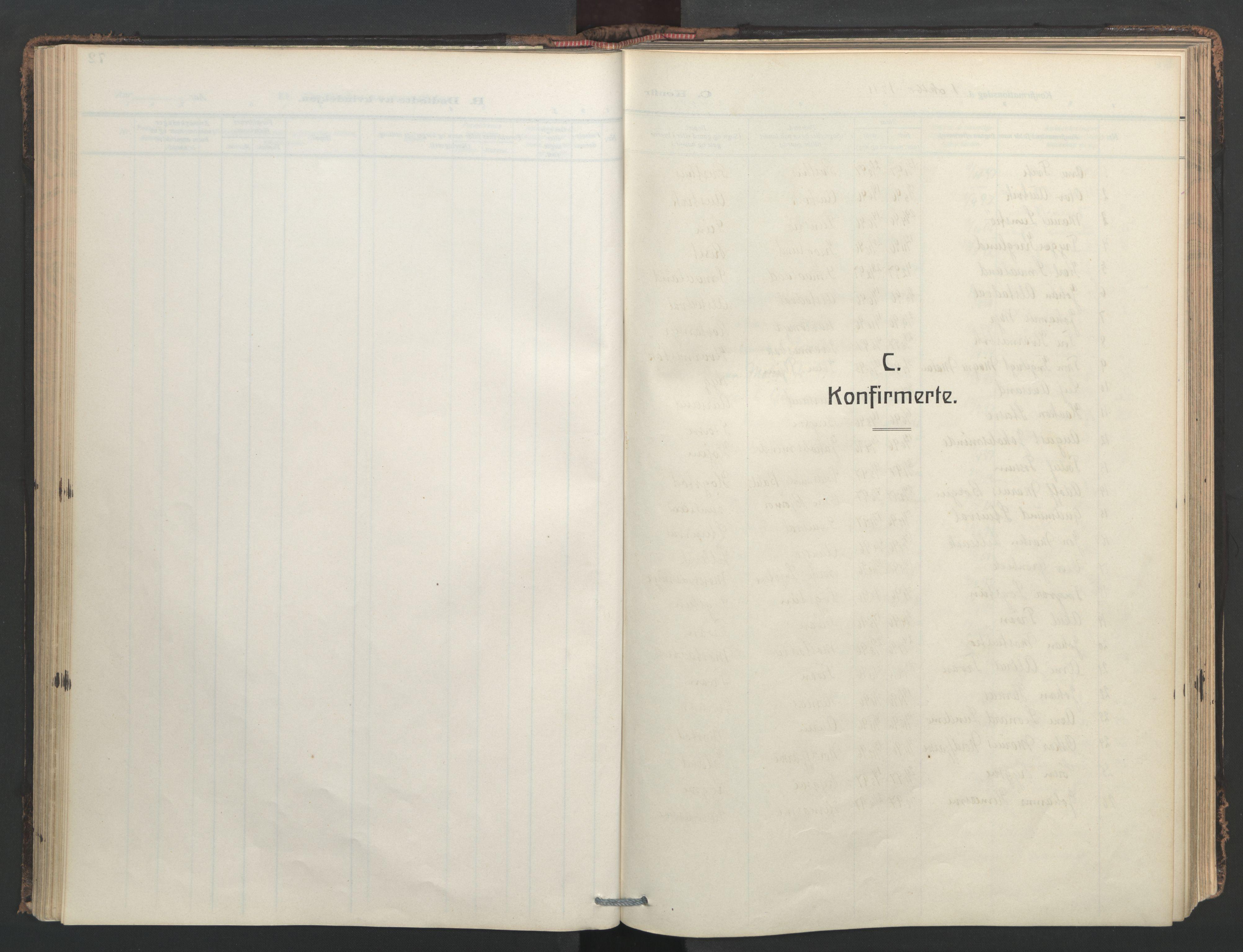SAT, Ministerialprotokoller, klokkerbøker og fødselsregistre - Nord-Trøndelag, 713/L0123: Ministerialbok nr. 713A12, 1911-1925