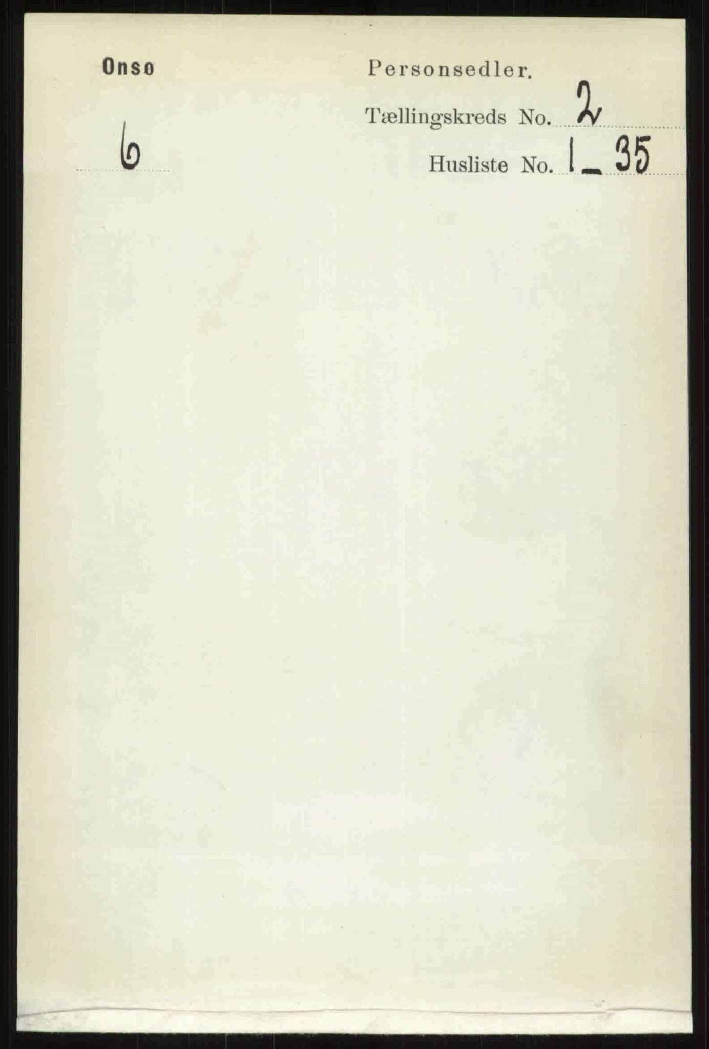 RA, Folketelling 1891 for 0134 Onsøy herred, 1891, s. 1000