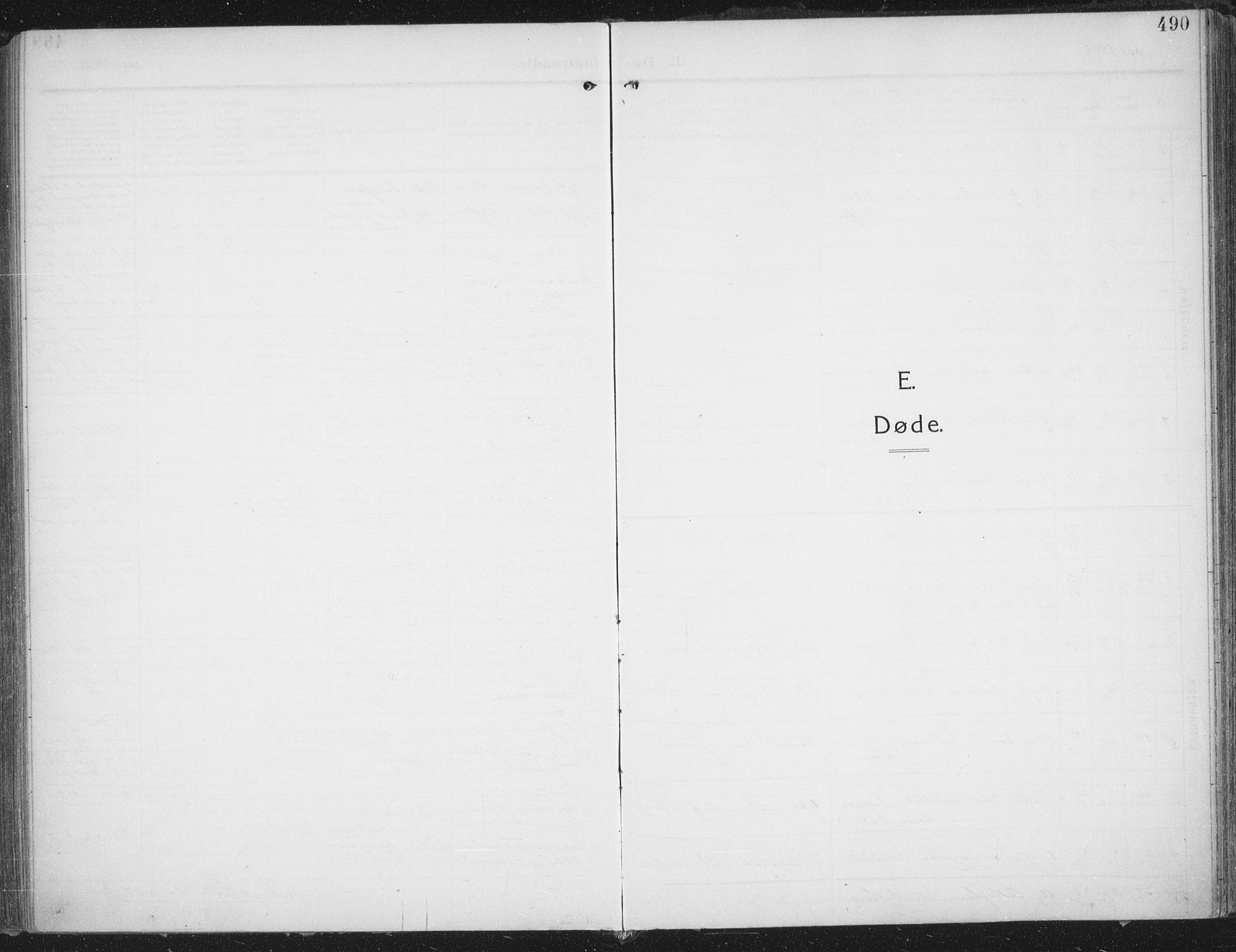 SATØ, Trondenes sokneprestkontor, H/Ha/L0018kirke: Ministerialbok nr. 18, 1909-1918, s. 490