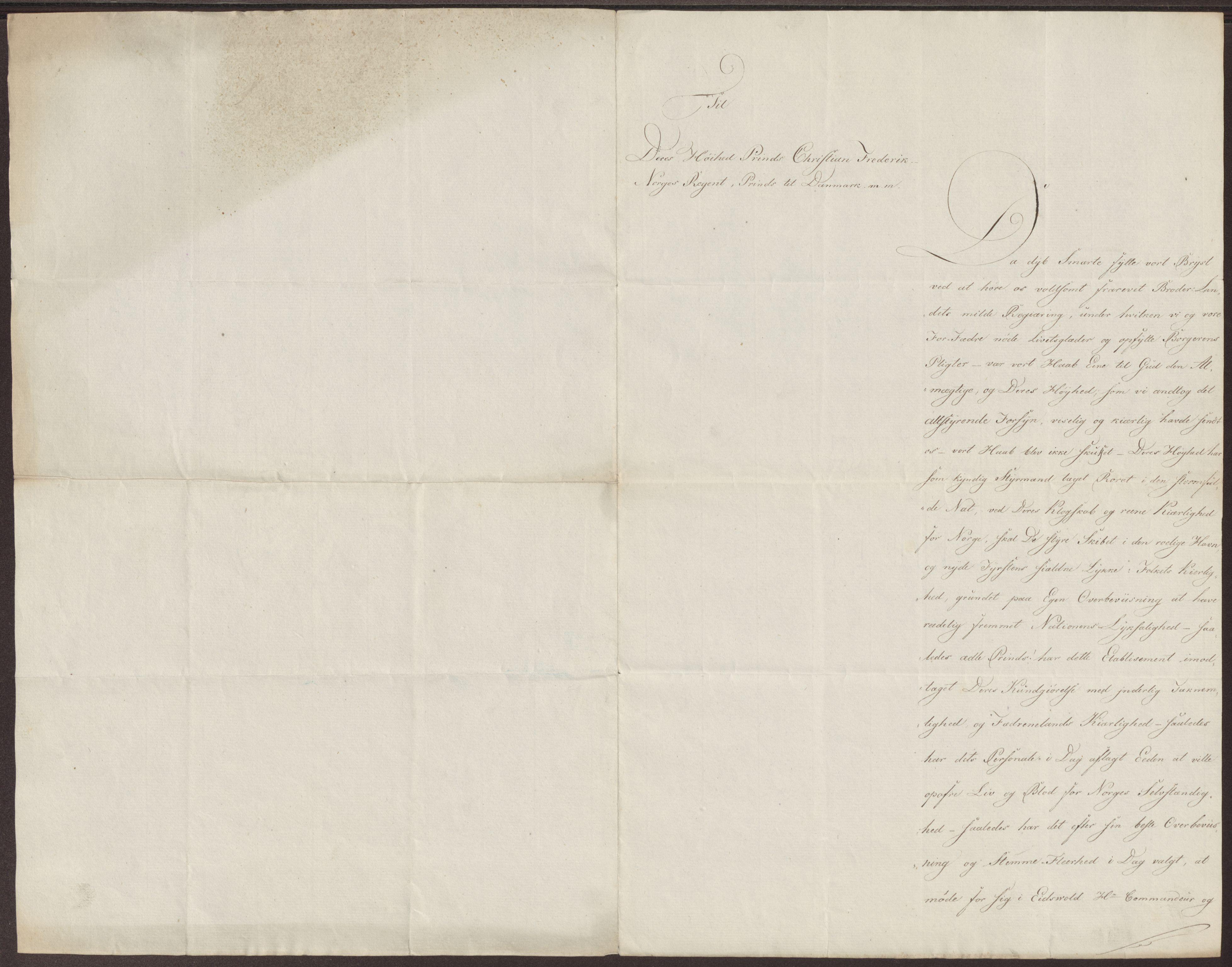 RA, Statsrådssekretariatet, D/Db/L0007: Fullmakter for Eidsvollsrepresentantene i 1814. , 1814, s. 125