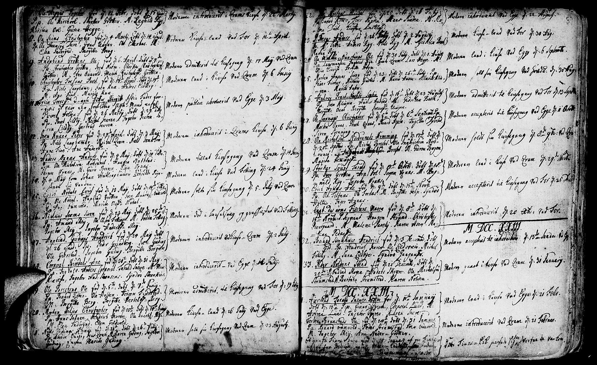 SAT, Ministerialprotokoller, klokkerbøker og fødselsregistre - Nord-Trøndelag, 746/L0439: Ministerialbok nr. 746A01, 1688-1759, s. 39