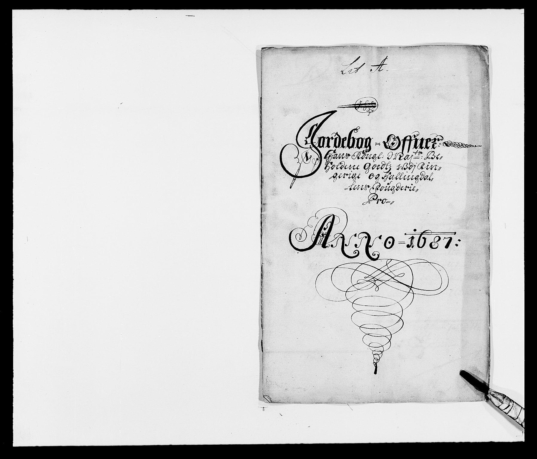 RA, Rentekammeret inntil 1814, Reviderte regnskaper, Fogderegnskap, R21/L1447: Fogderegnskap Ringerike og Hallingdal, 1687-1689, s. 7