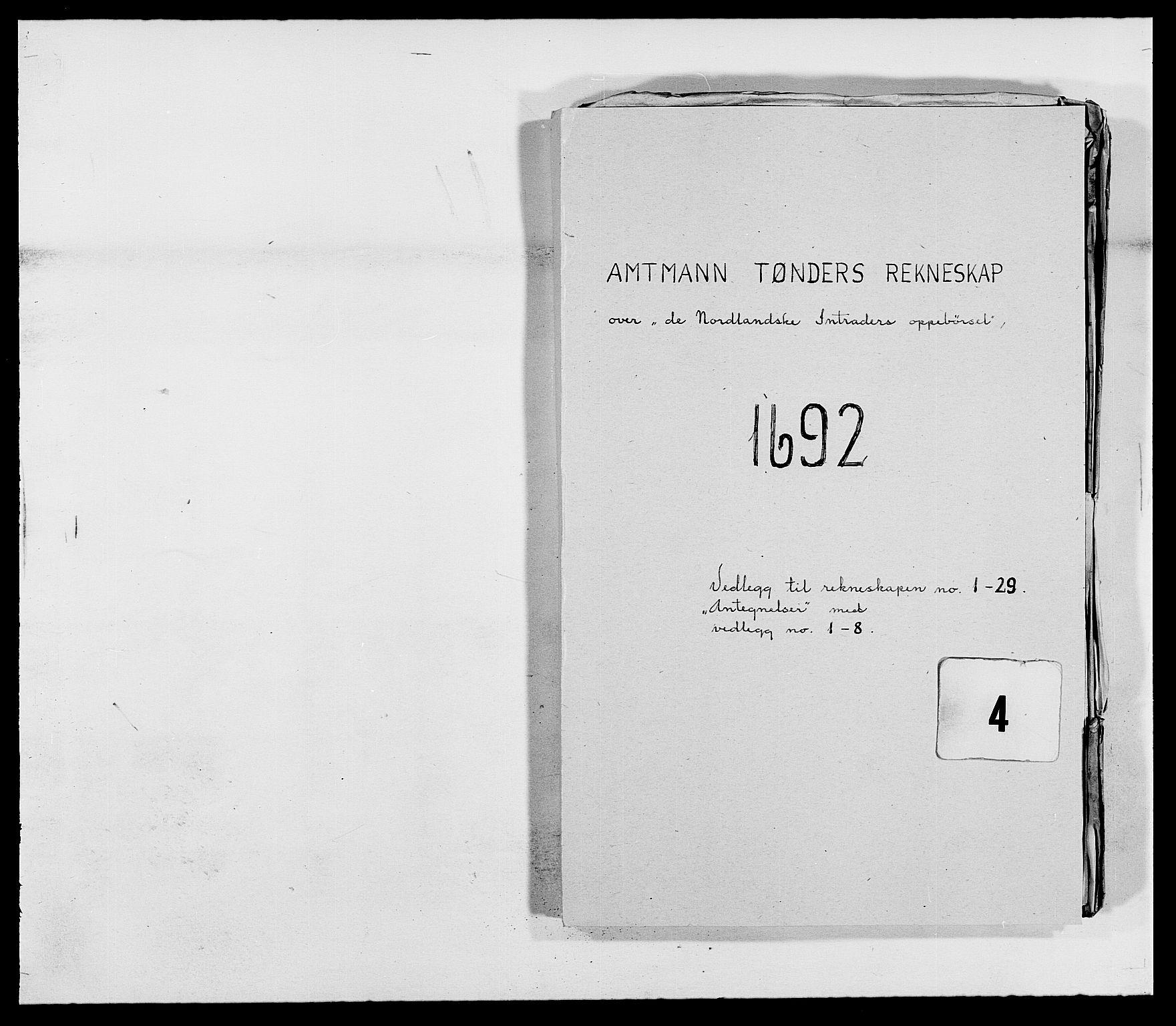 RA, Rentekammeret inntil 1814, Reviderte regnskaper, Fogderegnskap, R68/L4751: Fogderegnskap Senja og Troms, 1690-1693, s. 201