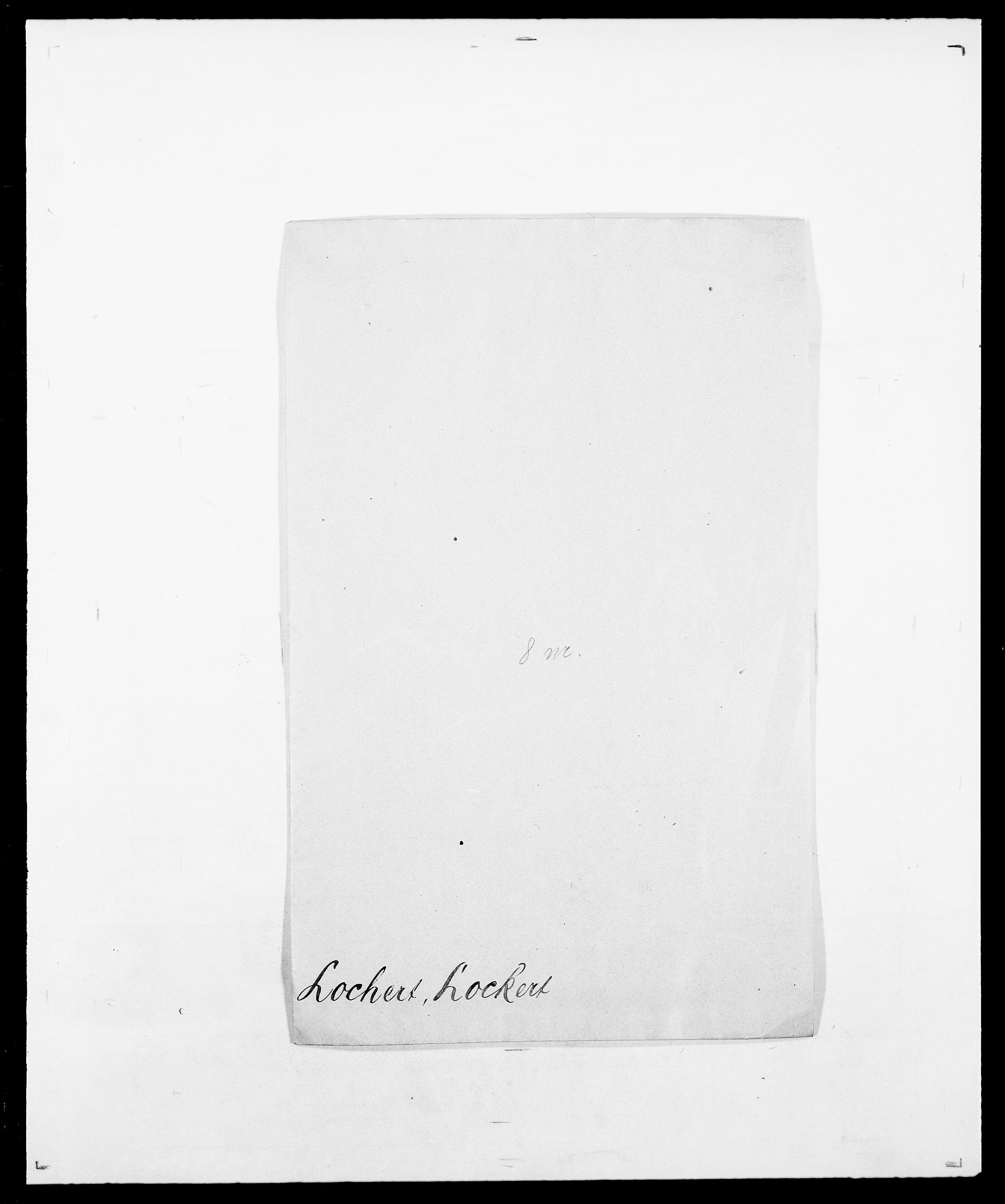 SAO, Delgobe, Charles Antoine - samling, D/Da/L0024: Lobech - Lærum, s. 12
