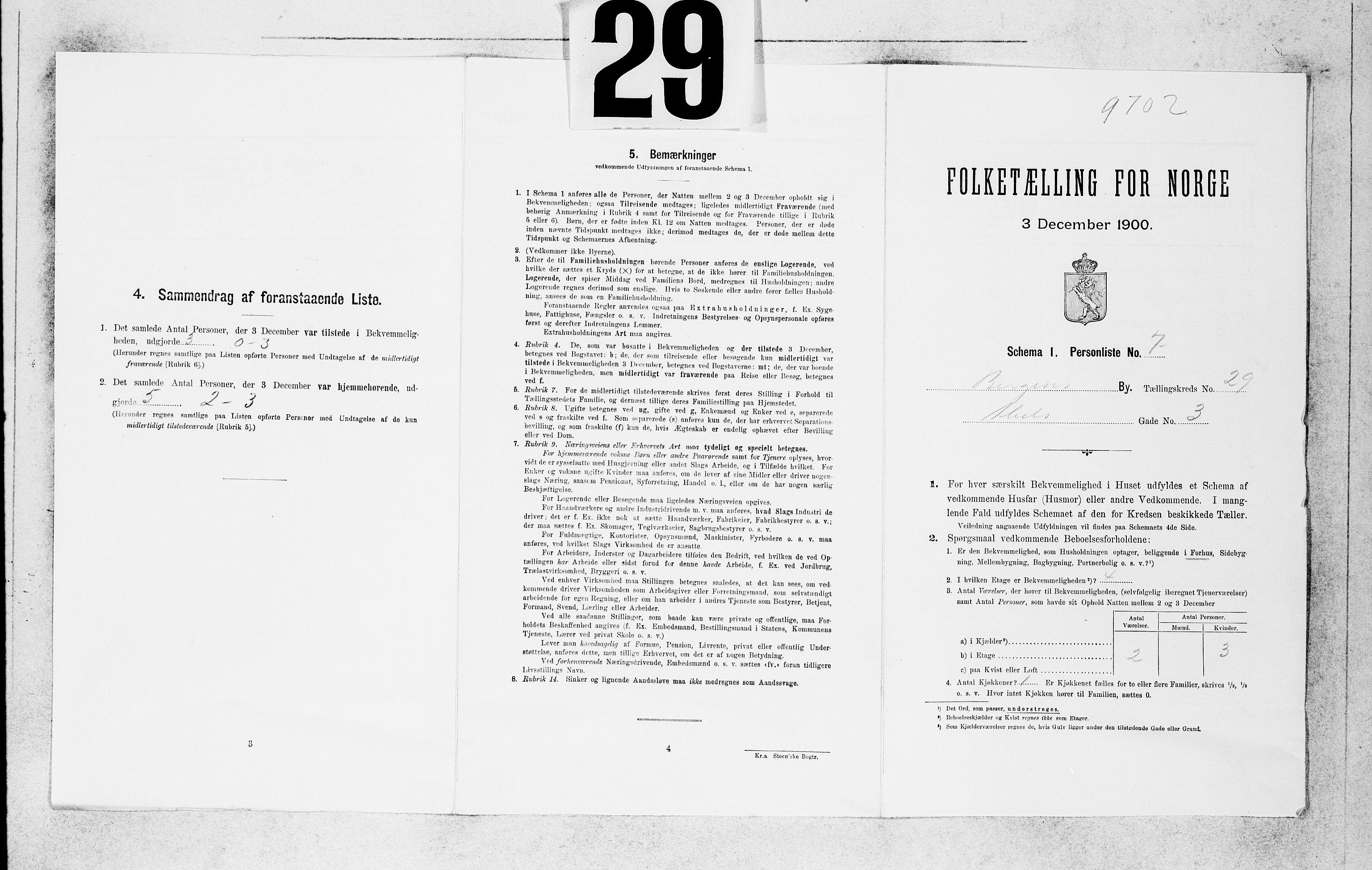SAB, Folketelling 1900 for 1301 Bergen kjøpstad, 1900, s. 6044
