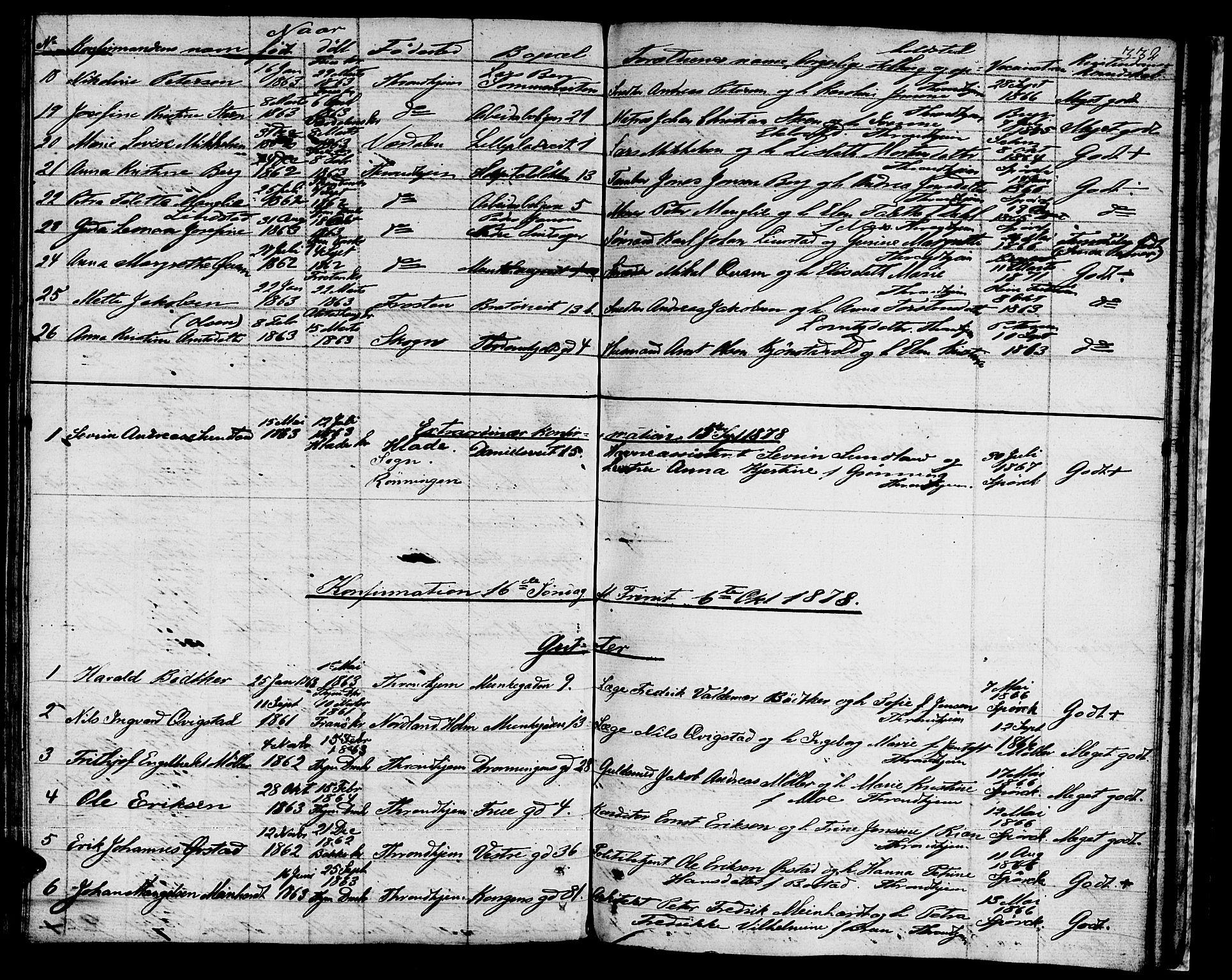 SAT, Ministerialprotokoller, klokkerbøker og fødselsregistre - Sør-Trøndelag, 601/L0070: Residerende kapellans bok nr. 601B03, 1821-1881, s. 332