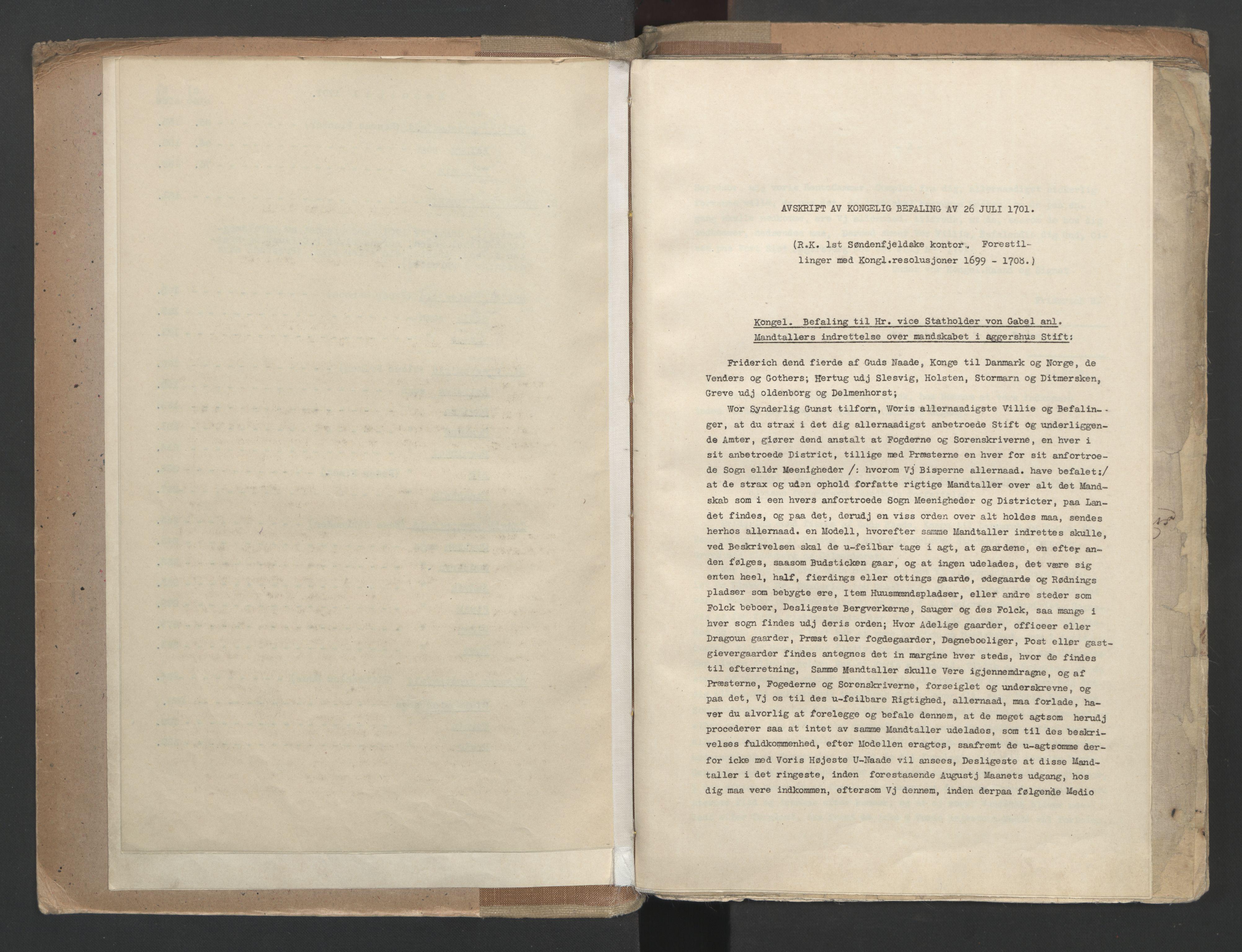 RA, Manntallet 1701, nr. 9: Sunnfjord fogderi, Nordfjord fogderi og Svanø birk, 1701
