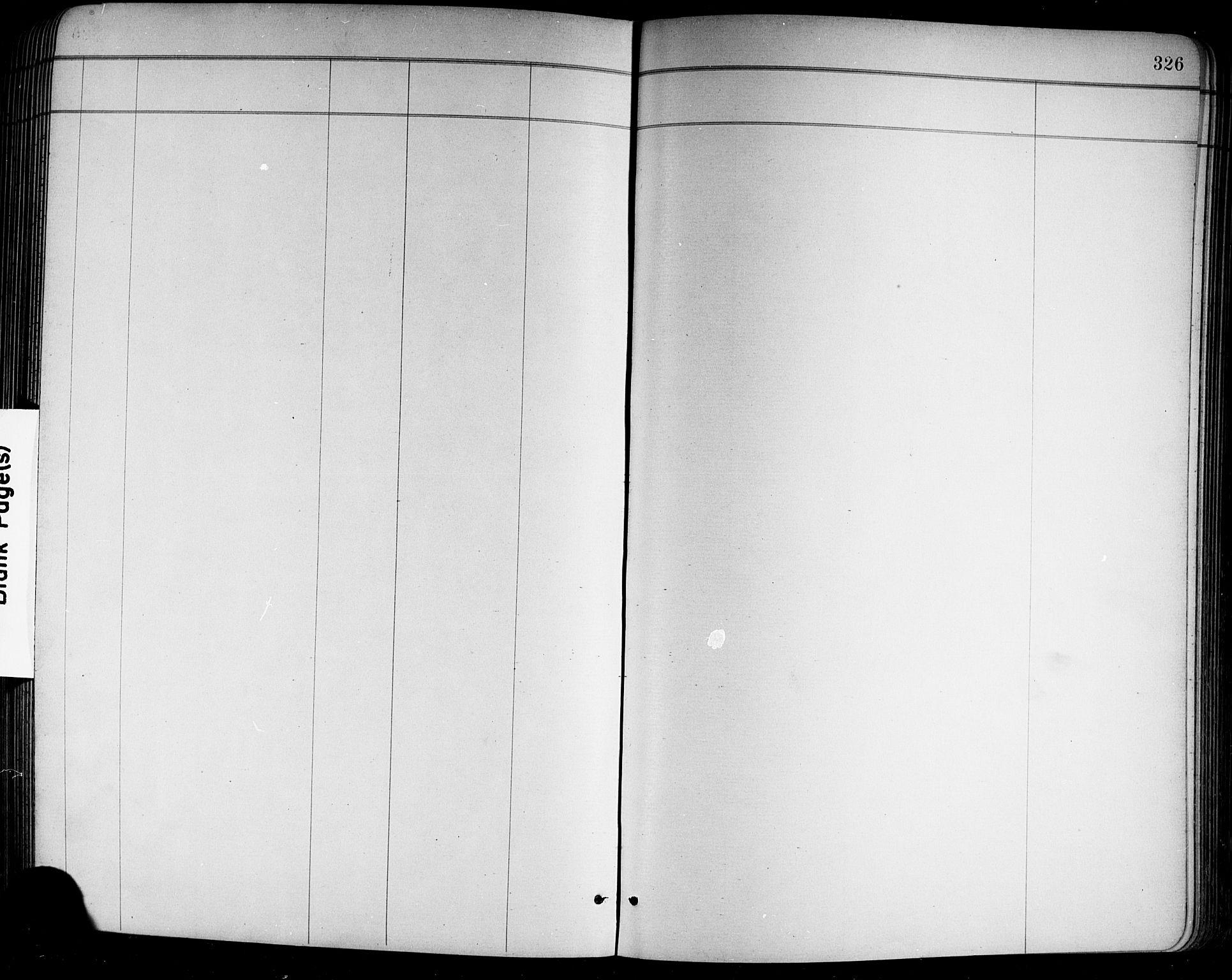 SAKO, Holla kirkebøker, G/Ga/L0005: Klokkerbok nr. I 5, 1891-1917, s. 326
