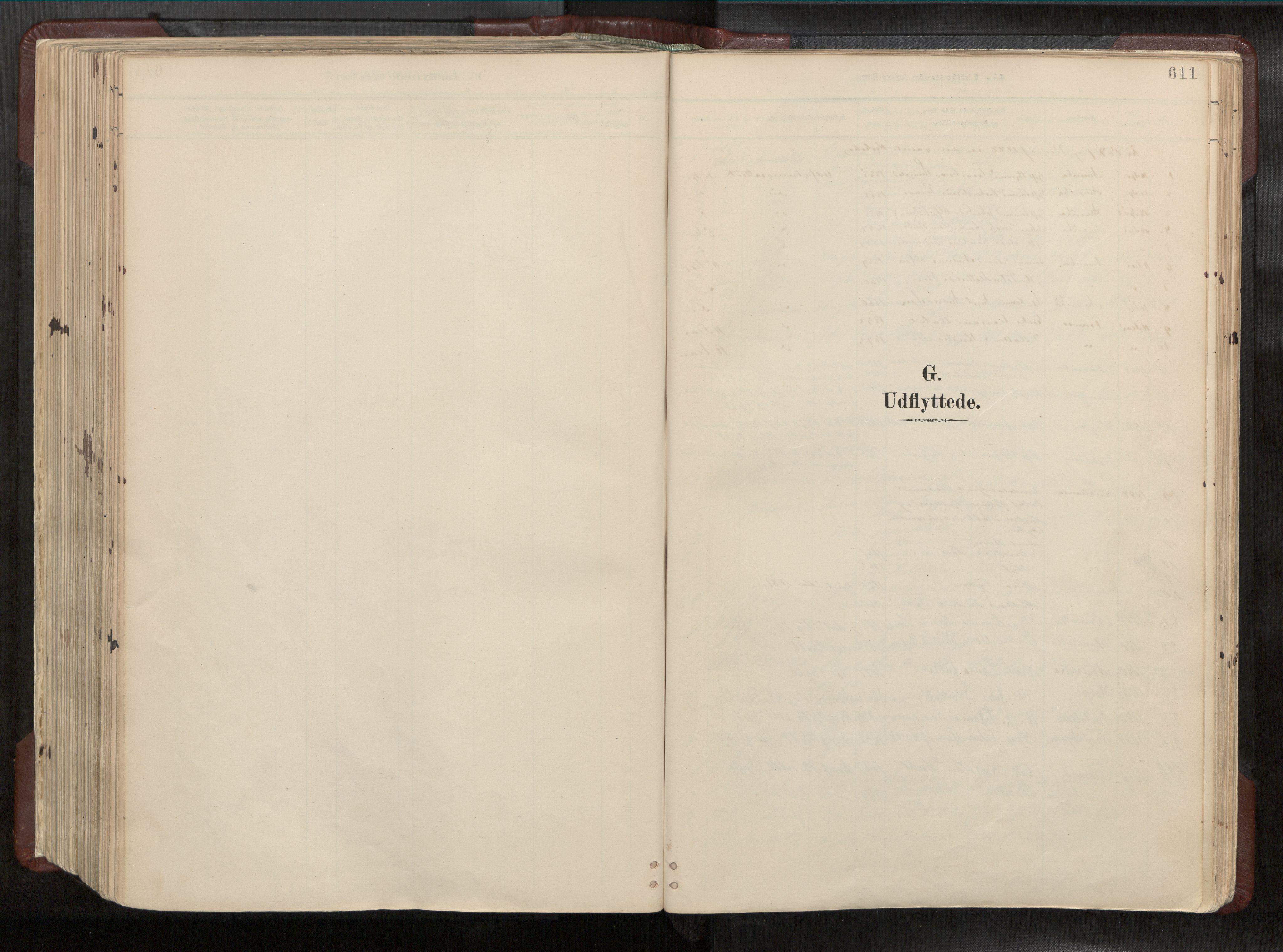SAT, Ministerialprotokoller, klokkerbøker og fødselsregistre - Nord-Trøndelag, 768/L0579a: Ministerialbok nr. 768A14, 1887-1931, s. 611