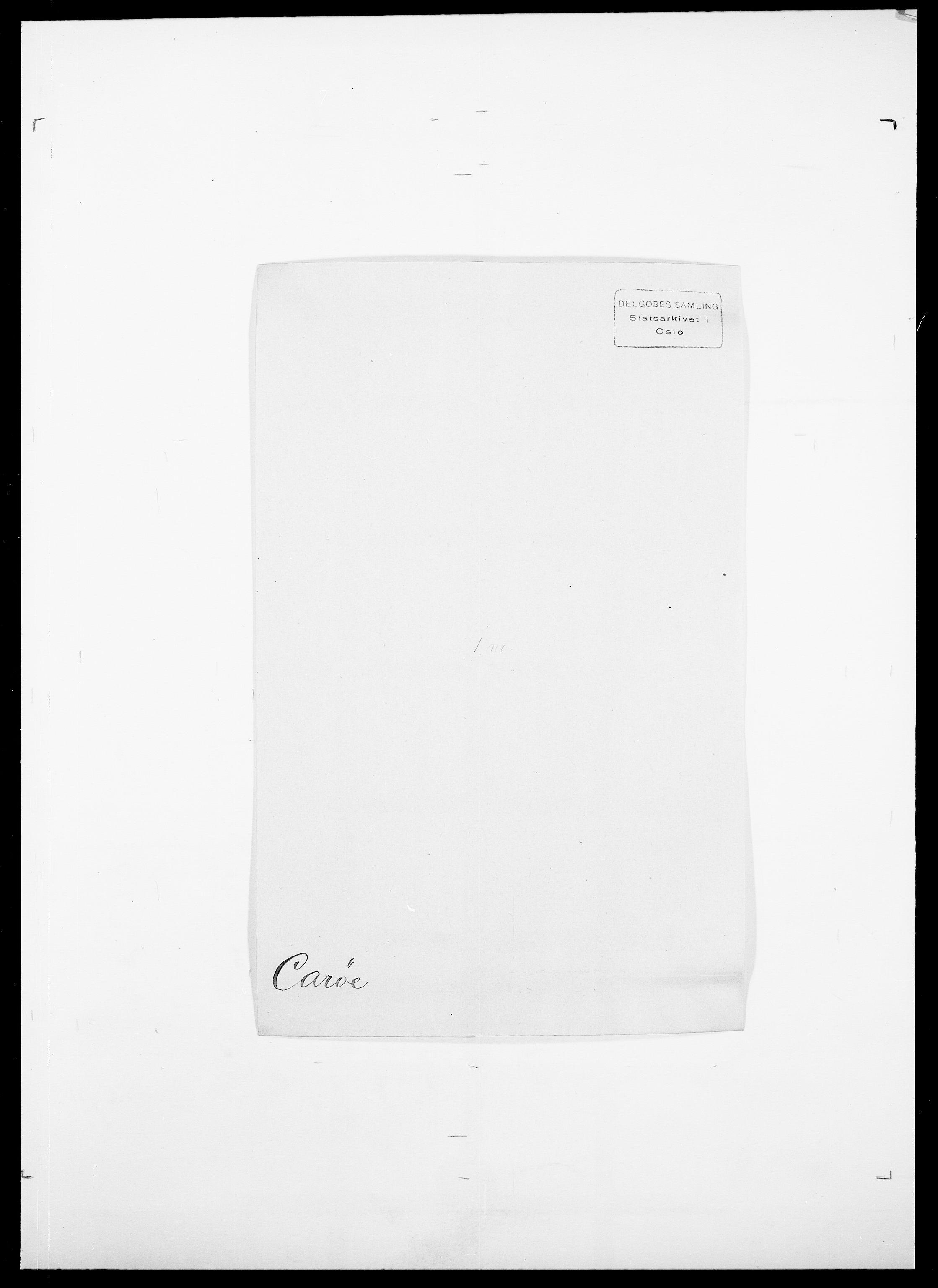 SAO, Delgobe, Charles Antoine - samling, D/Da/L0008: Capjon - Dagenbolt, s. 106