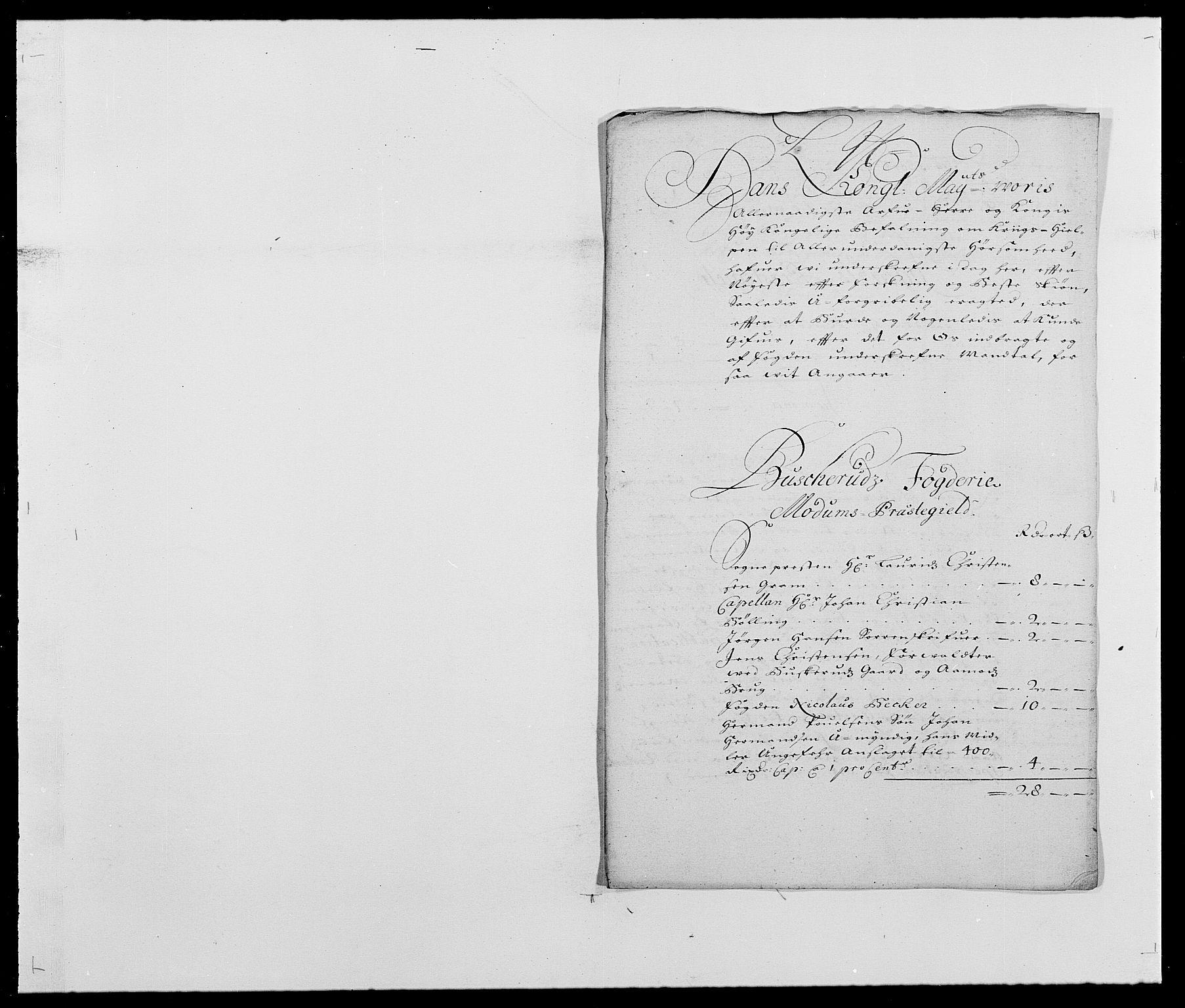 RA, Rentekammeret inntil 1814, Reviderte regnskaper, Fogderegnskap, R25/L1677: Fogderegnskap Buskerud, 1683-1684, s. 150