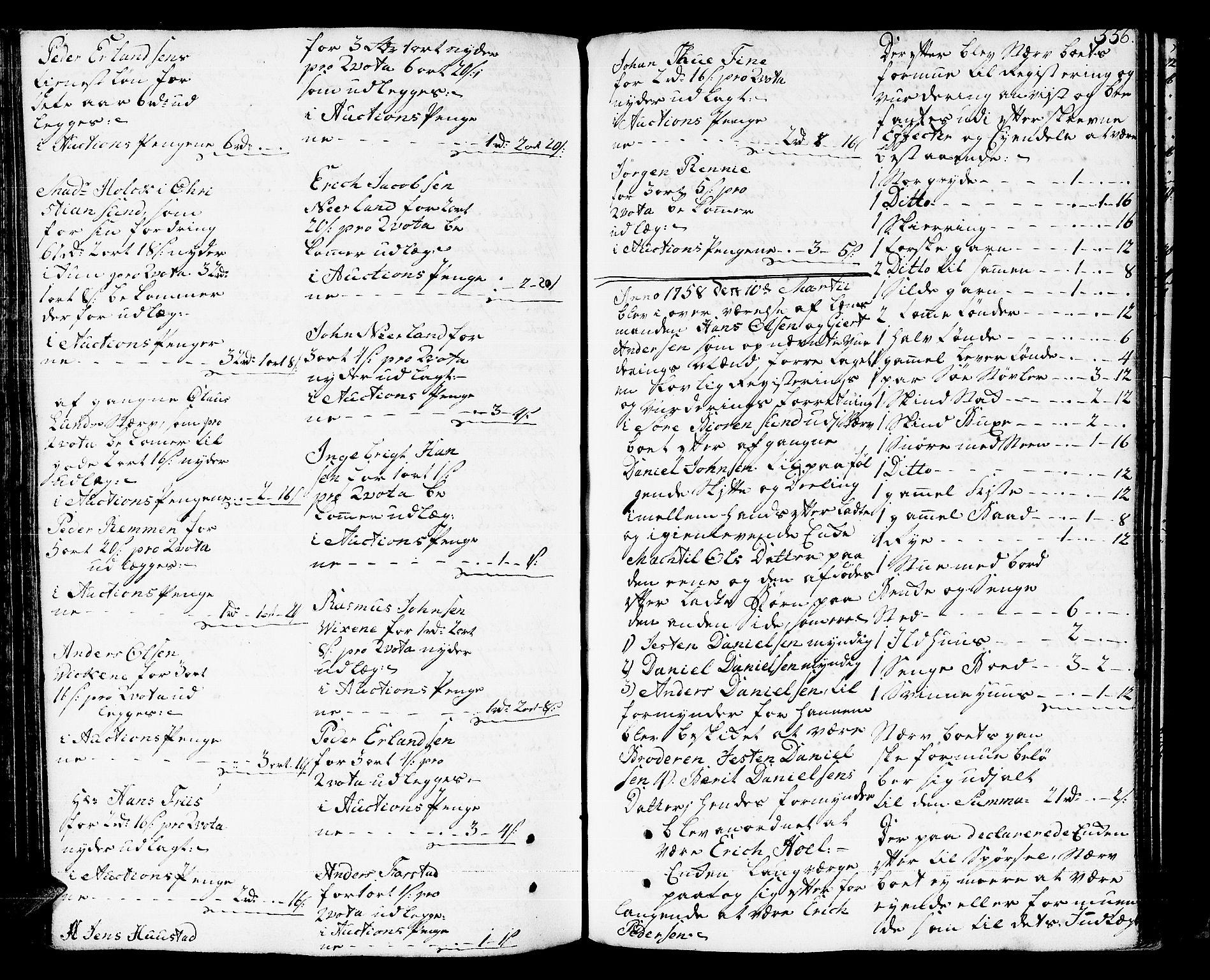SAT, Romsdal sorenskriveri, 3/3A/L0008: Skifteprotokoll, 1752-1761, s. 555b-556a