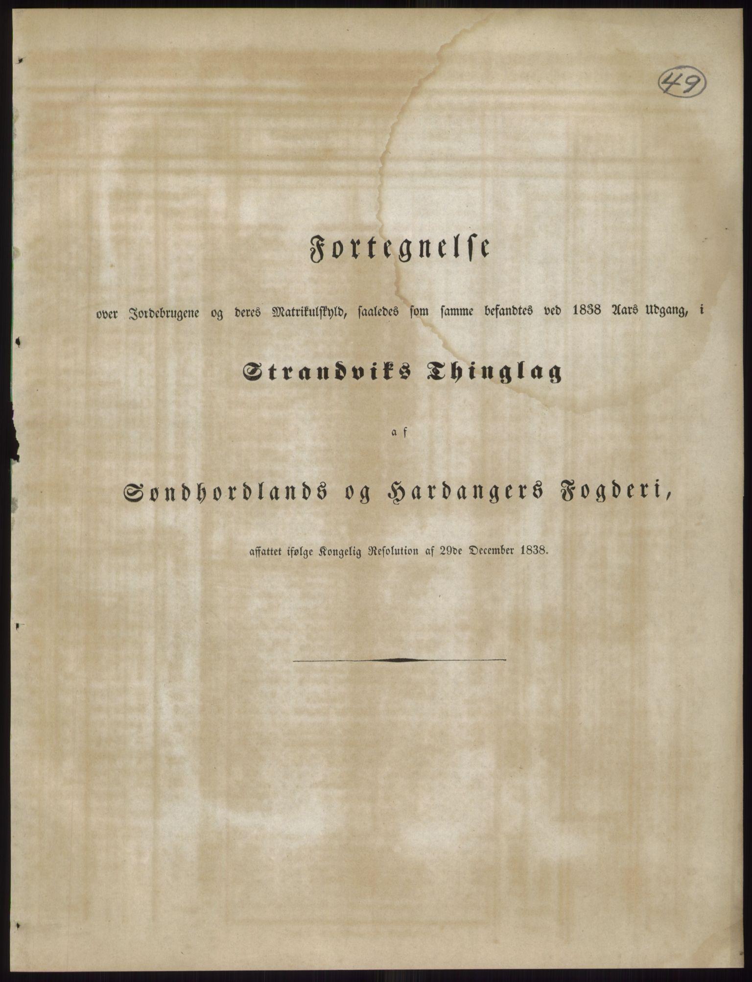 PUBL, Andre publikasjoner, -/Bind 11: Søndre Bergenhus amt: Sunnhordland og Hardanger fogderi, Stamhuset Rosendals gods og Lyse klosters gods, 1838, s. 84