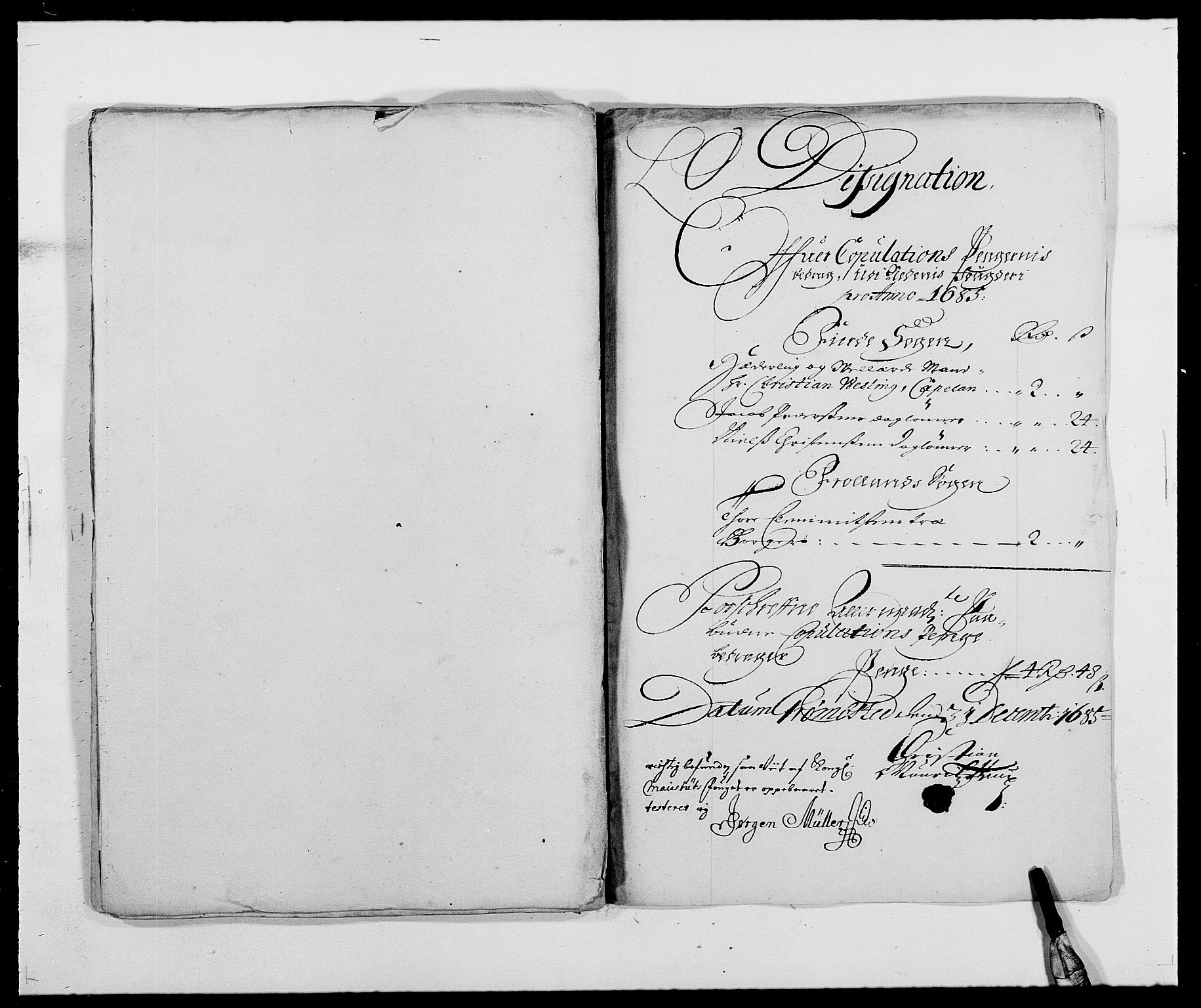 RA, Rentekammeret inntil 1814, Reviderte regnskaper, Fogderegnskap, R39/L2308: Fogderegnskap Nedenes, 1684-1689, s. 329
