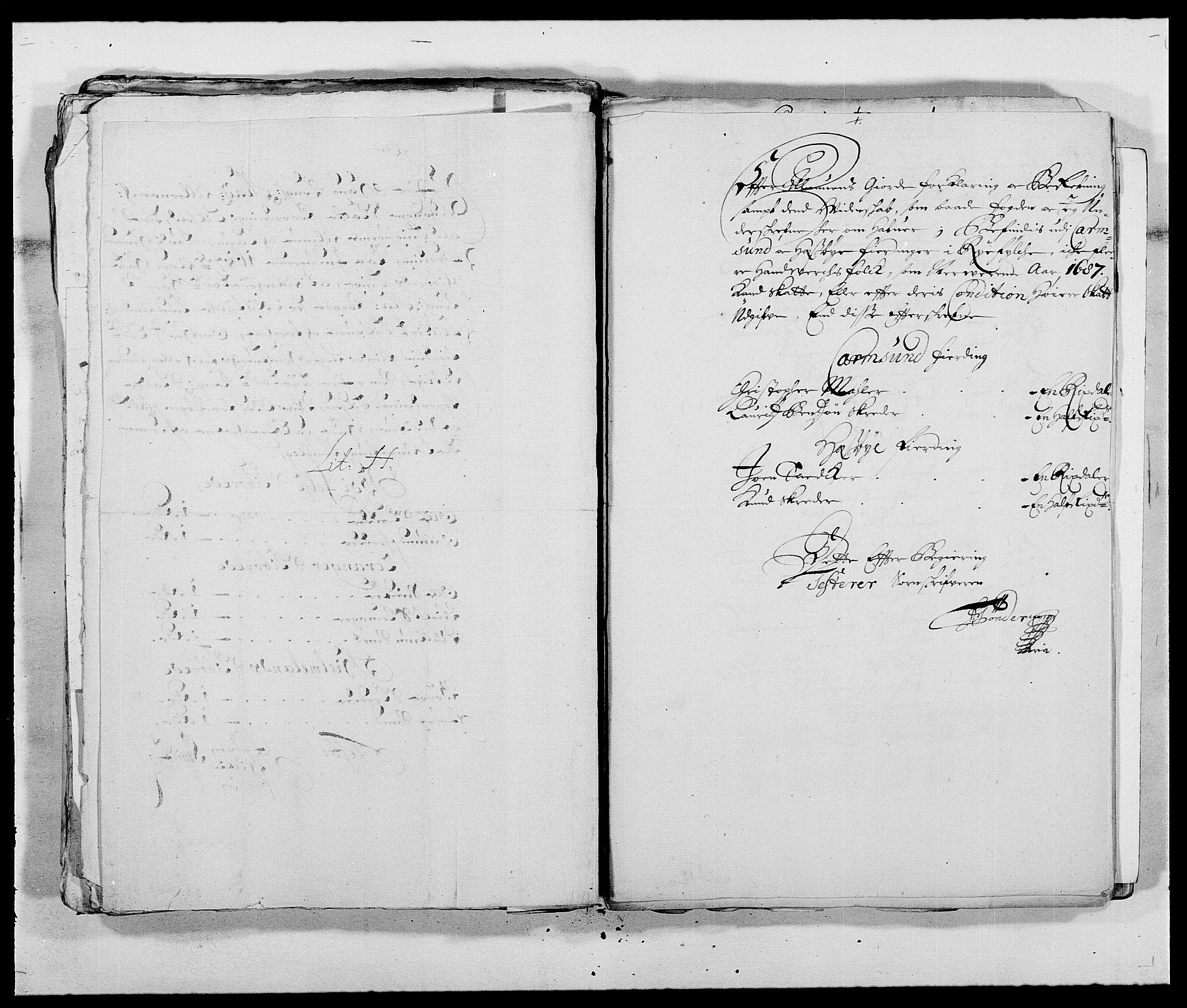 RA, Rentekammeret inntil 1814, Reviderte regnskaper, Fogderegnskap, R47/L2855: Fogderegnskap Ryfylke, 1685-1688, s. 308