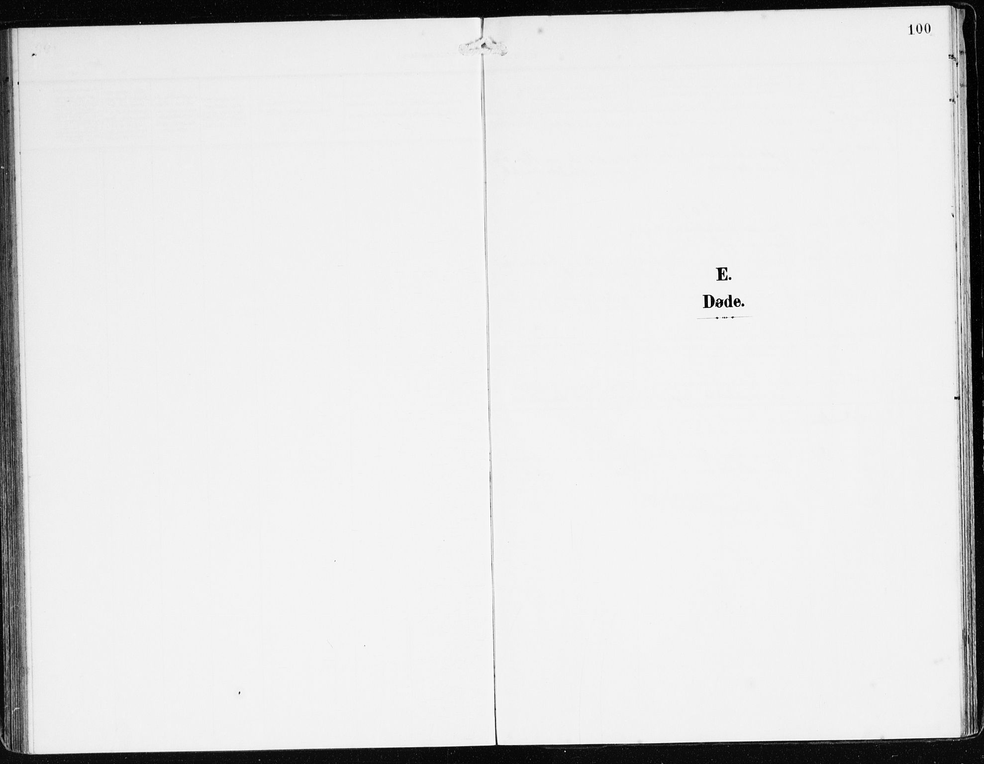 SAB, Bremanger Sokneprestembete, H/Haa: Ministerialbok nr. B 3, 1908-1925, s. 100