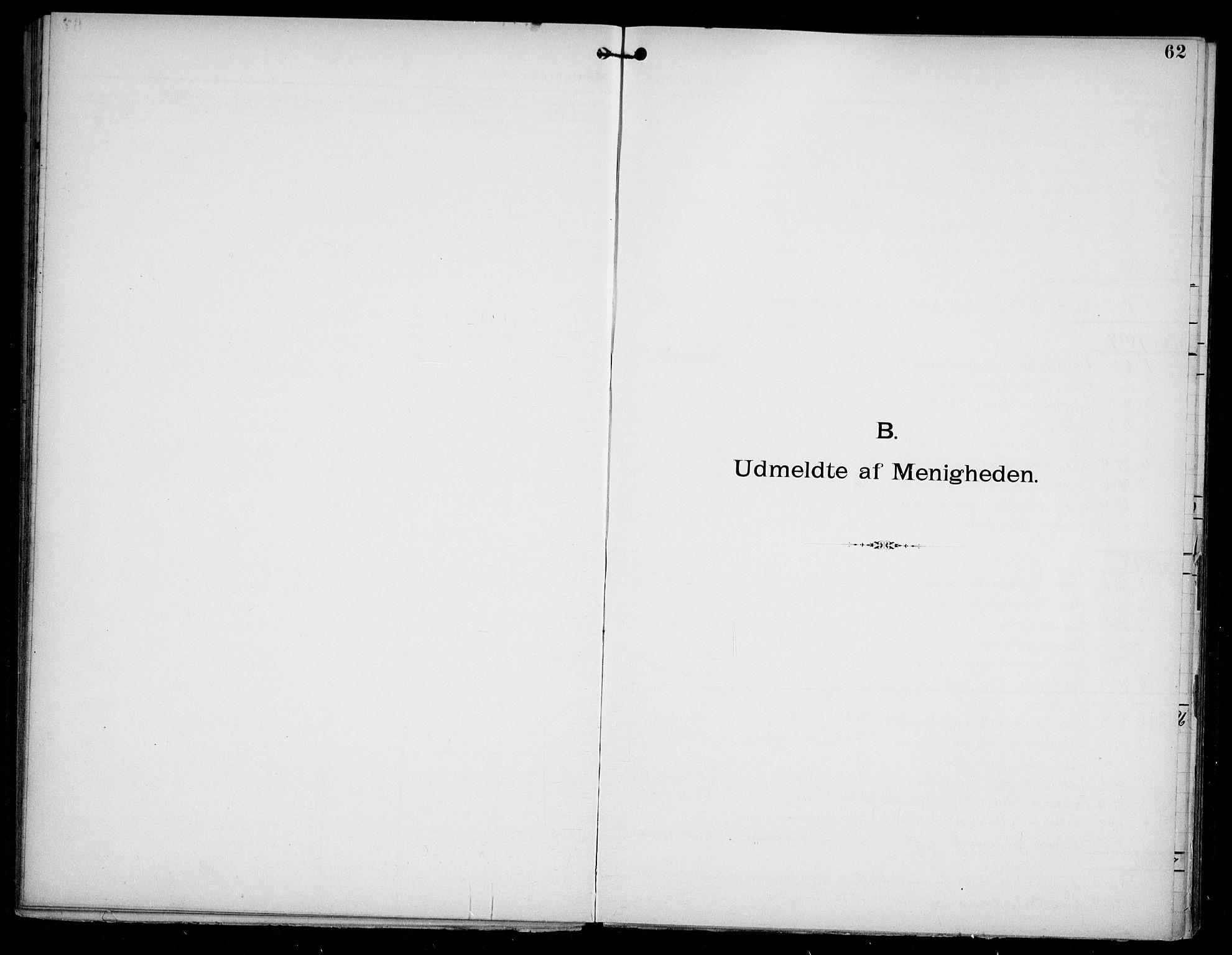 SAO, Den katolsk apostoliske menighet i Oslo , F/Fa/L0002: Dissenterprotokoll nr. 2, 1892-1937, s. 62
