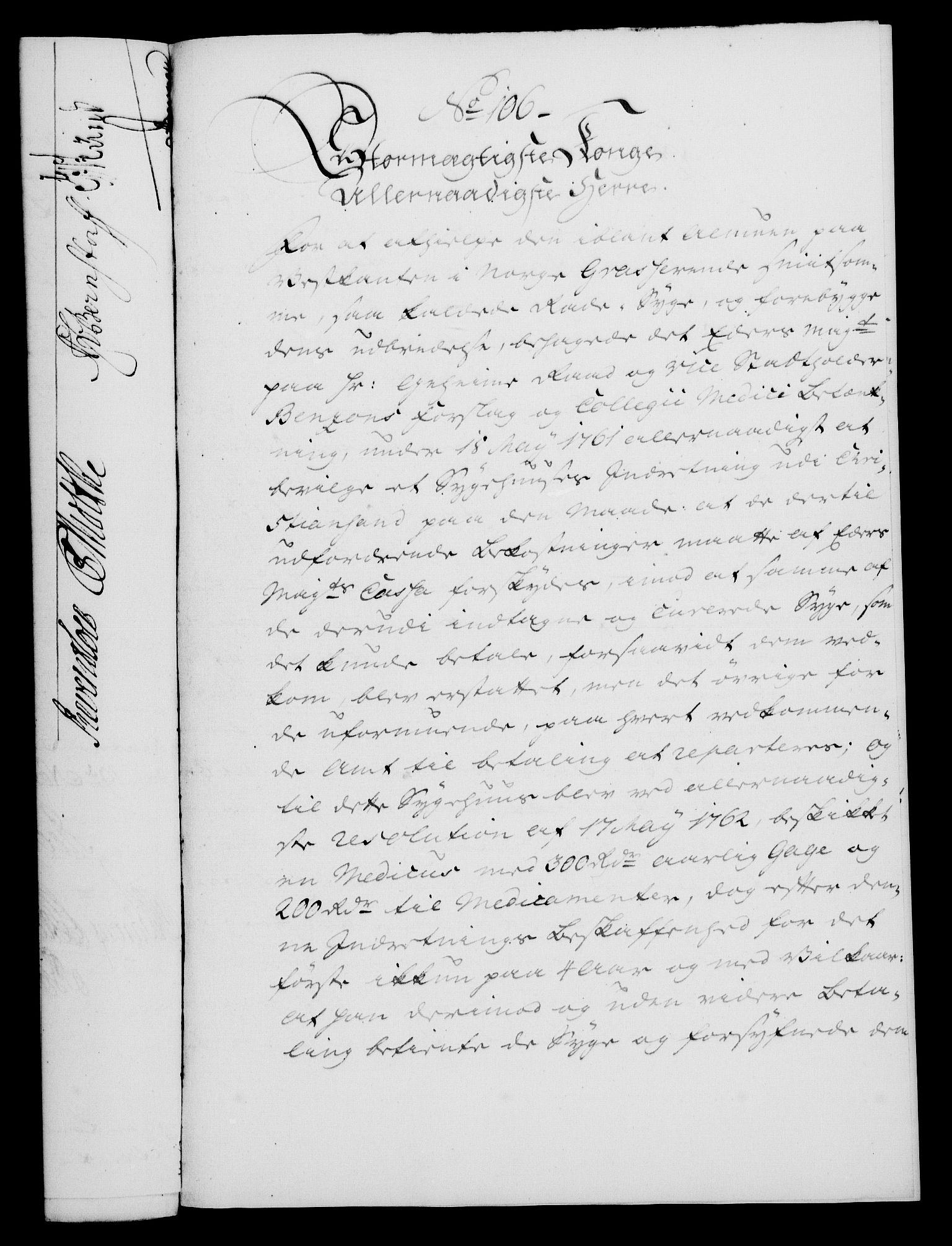 RA, Rentekammeret, Kammerkanselliet, G/Gf/Gfa/L0047: Norsk relasjons- og resolusjonsprotokoll (merket RK 52.47), 1765, s. 444