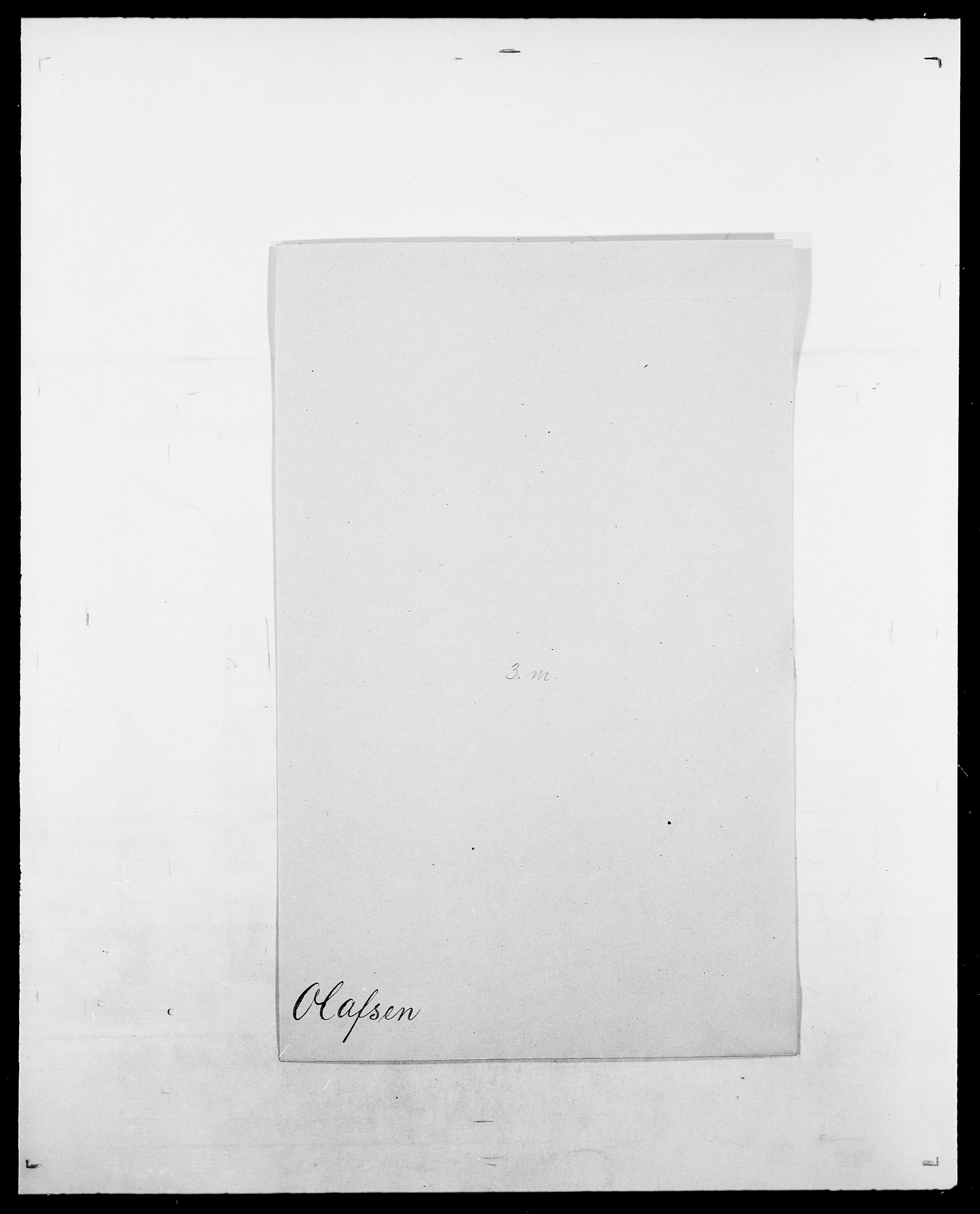 SAO, Delgobe, Charles Antoine - samling, D/Da/L0029: Obel - Oxholm, s. 84