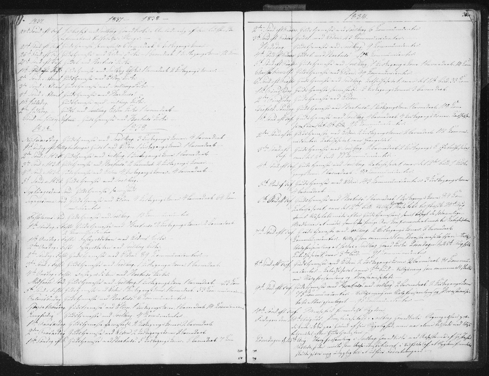 SAT, Ministerialprotokoller, klokkerbøker og fødselsregistre - Nord-Trøndelag, 741/L0392: Ministerialbok nr. 741A06, 1836-1848, s. 362