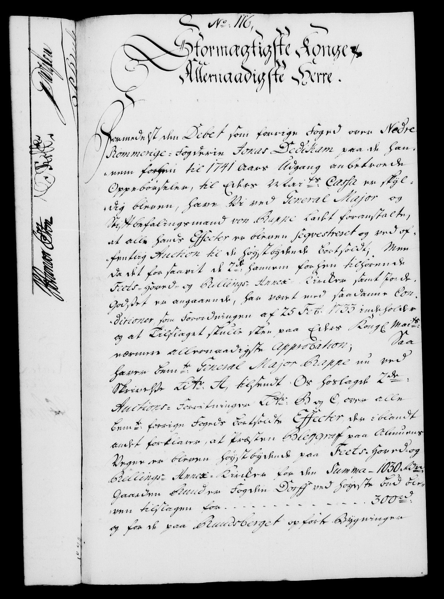 RA, Rentekammeret, Kammerkanselliet, G/Gf/Gfa/L0026: Norsk relasjons- og resolusjonsprotokoll (merket RK 52.26), 1743, s. 729
