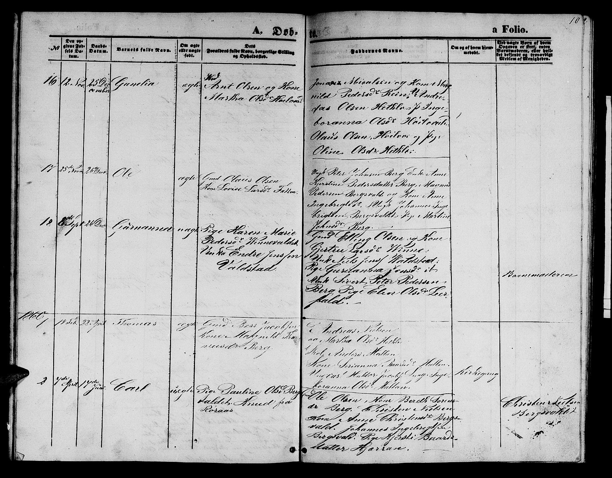 SAT, Ministerialprotokoller, klokkerbøker og fødselsregistre - Nord-Trøndelag, 726/L0270: Klokkerbok nr. 726C01, 1858-1868, s. 10