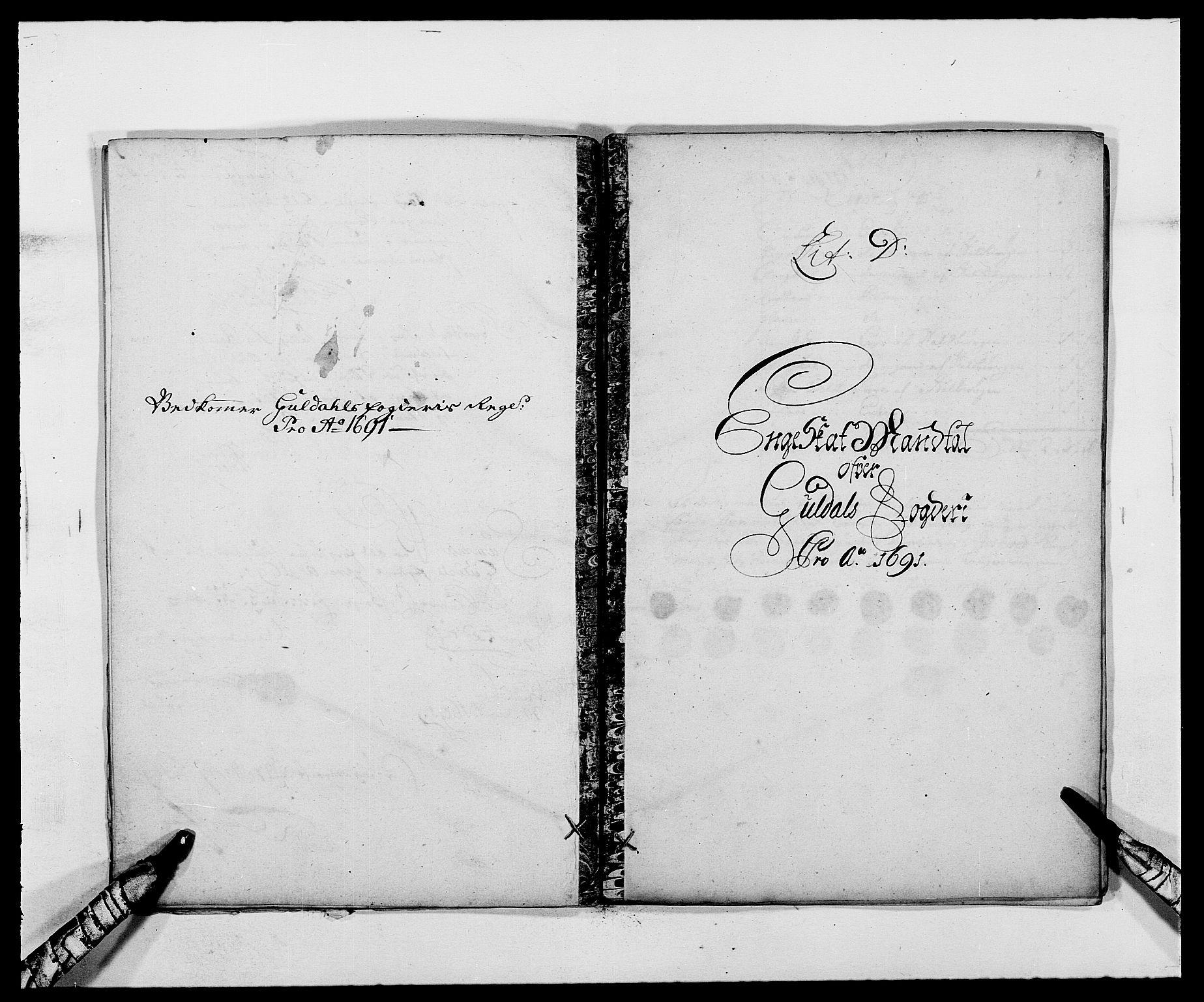 RA, Rentekammeret inntil 1814, Reviderte regnskaper, Fogderegnskap, R59/L3941: Fogderegnskap Gauldal, 1691, s. 69