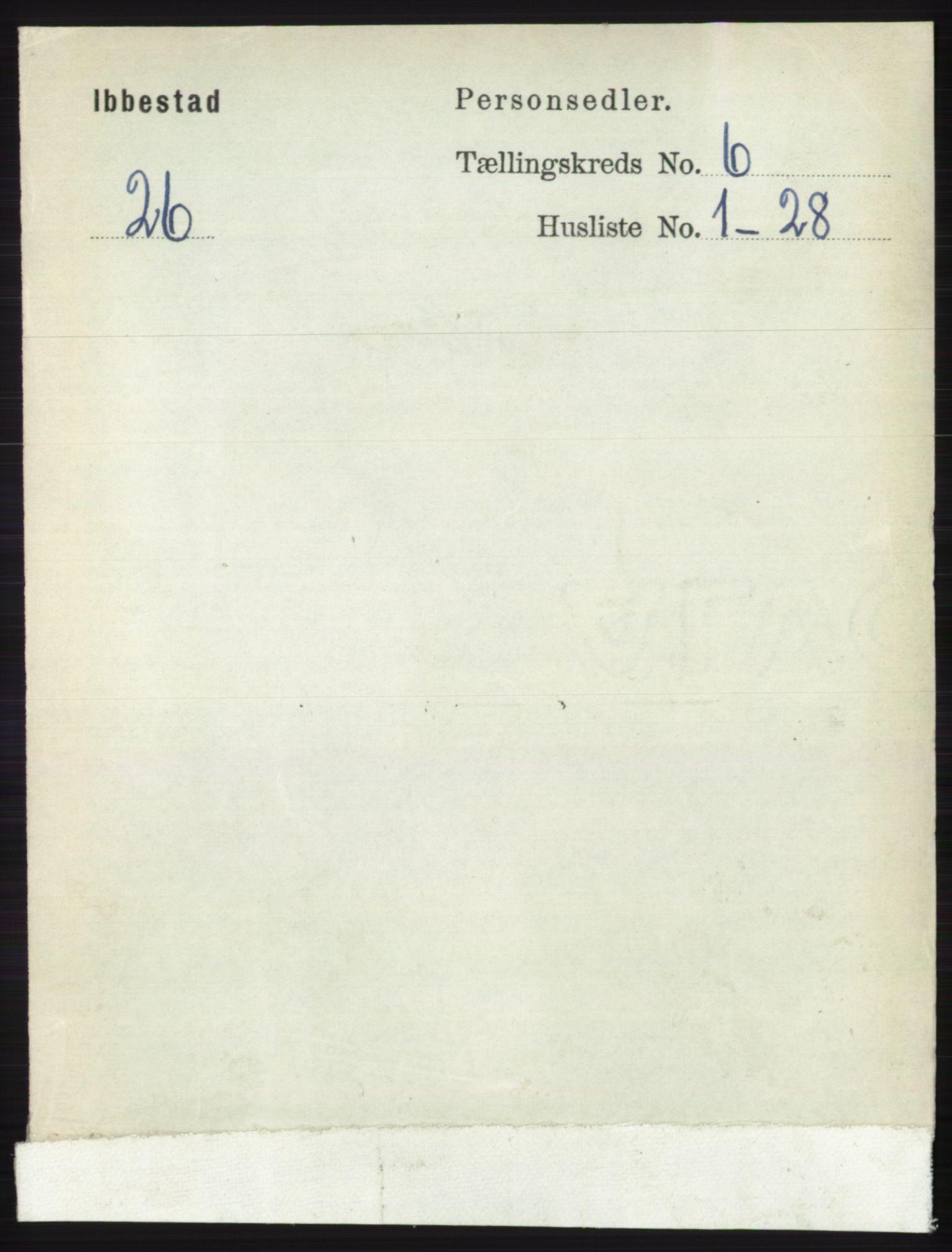 RA, Folketelling 1891 for 1917 Ibestad herred, 1891, s. 3569
