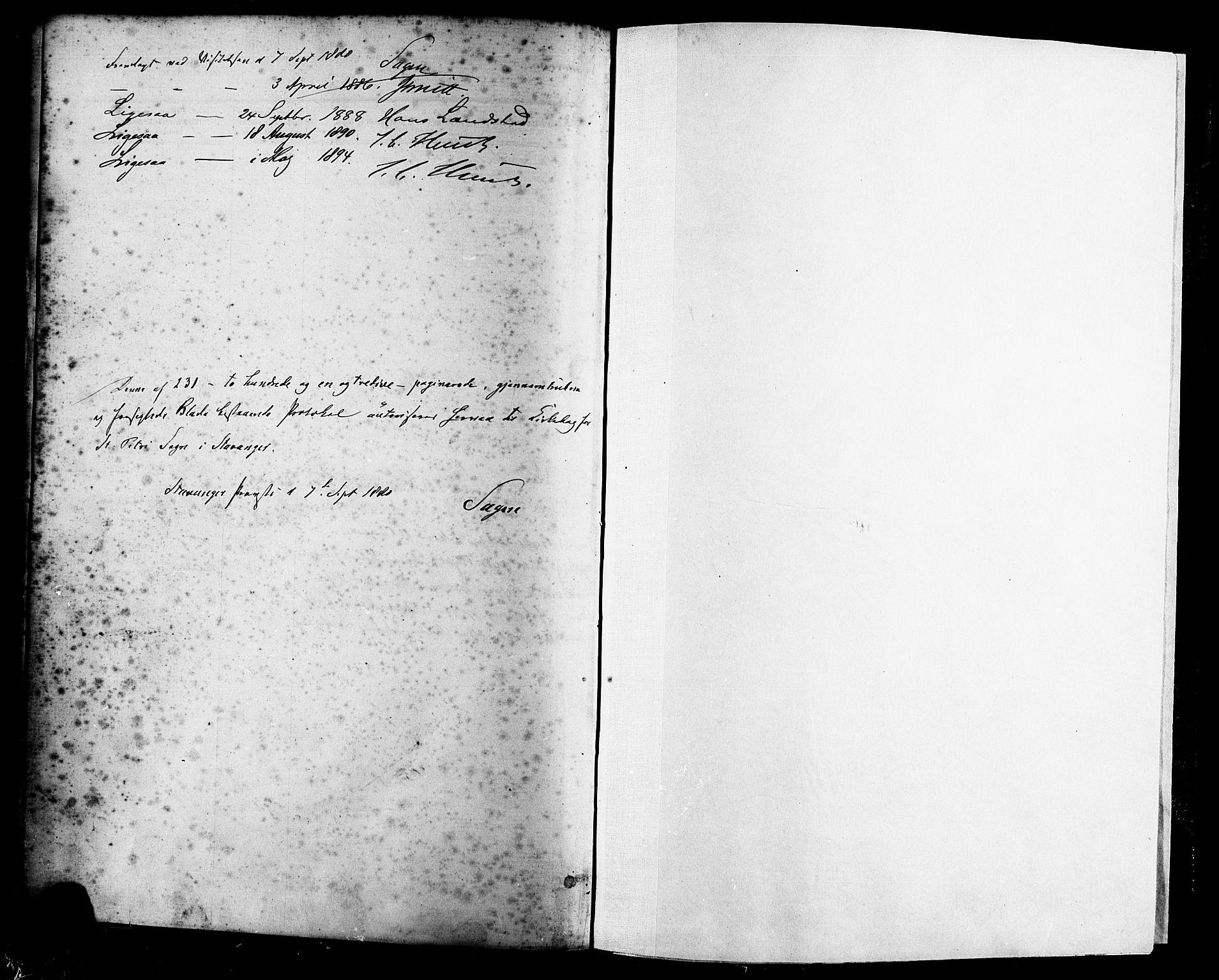 SAST, St. Petri sokneprestkontor, 30/30BA/L0016: Ministerialbok nr. A 16, 1879-1893