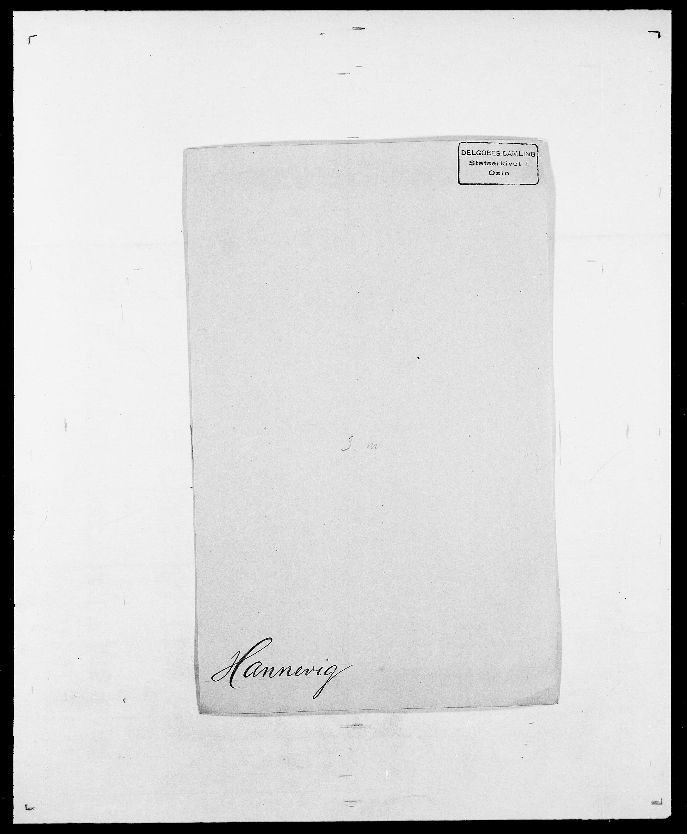 SAO, Delgobe, Charles Antoine - samling, D/Da/L0016: Hamborg - Hektoen, s. 124
