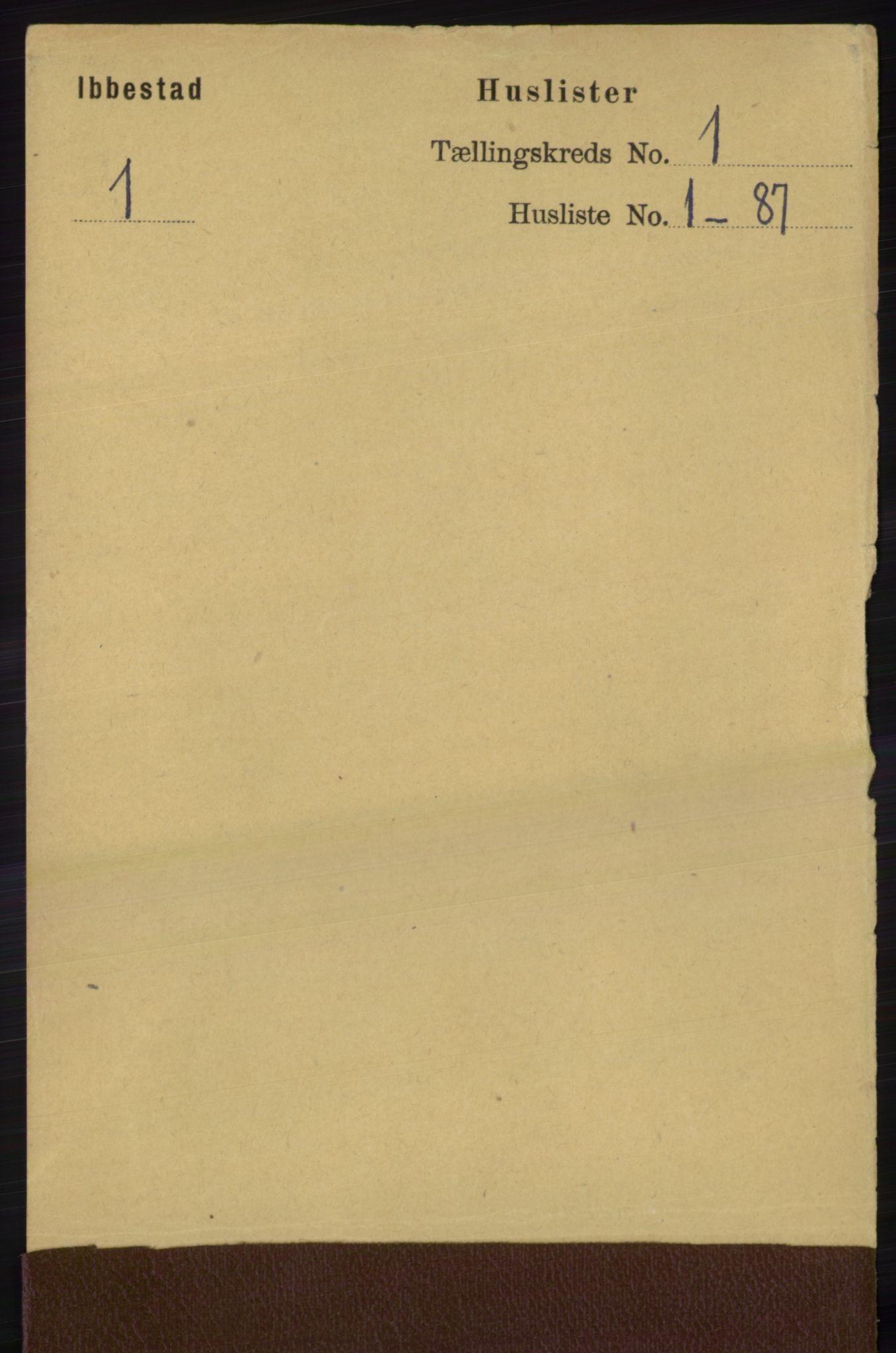 RA, Folketelling 1891 for 1917 Ibestad herred, 1891, s. 32