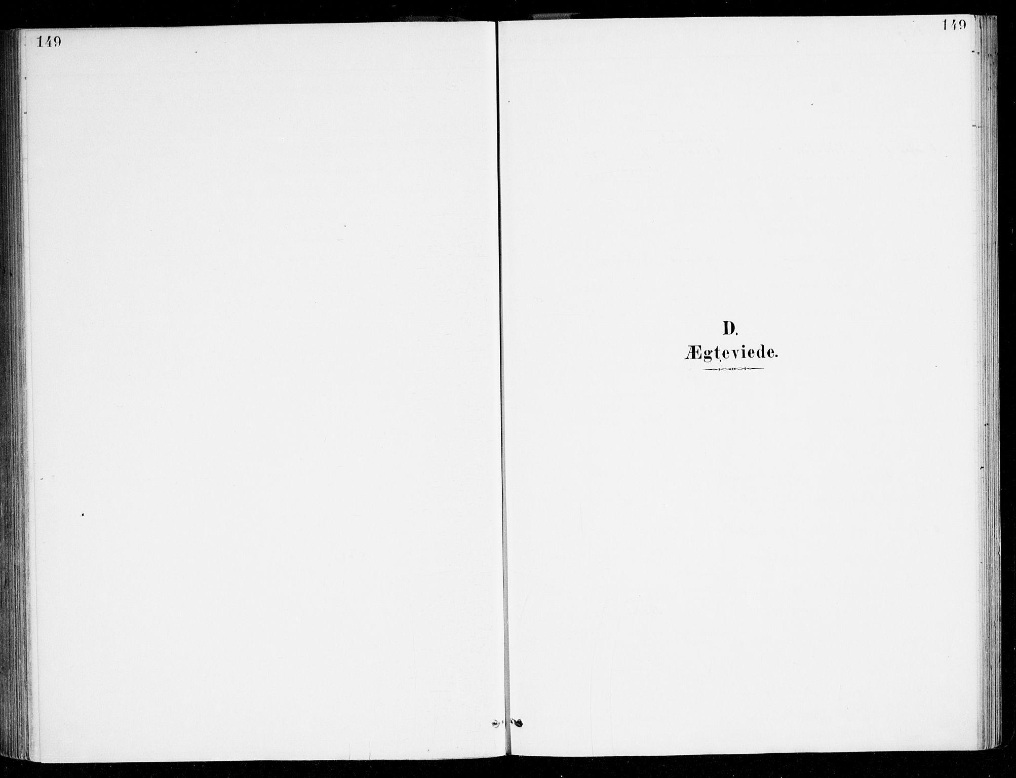 SAB, Haus sokneprestembete, H/Haa: Ministerialbok nr. D 1, 1887-1898, s. 149